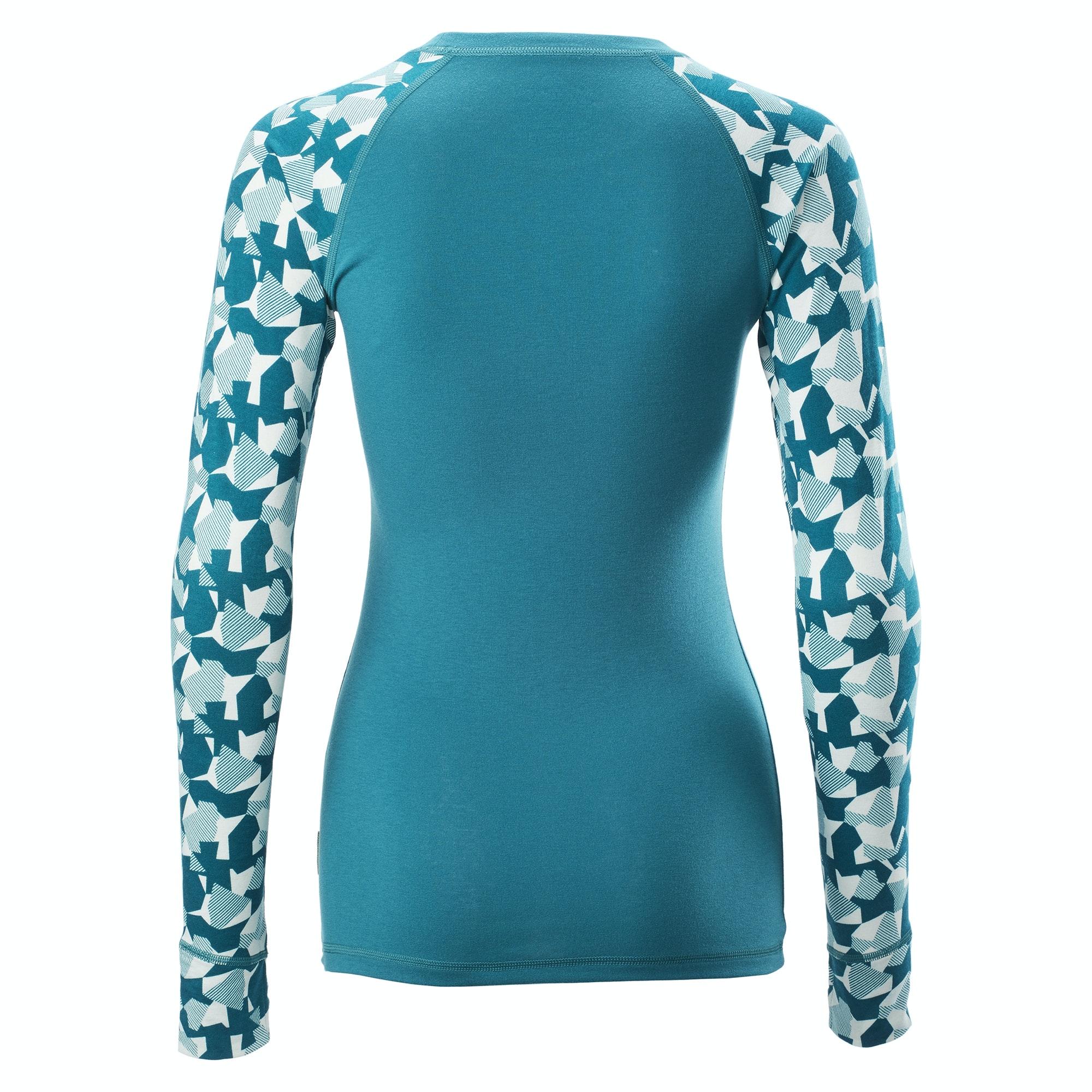 thumbnail 12 - NEW Kathmandu KMDMotion Womens Long Sleeve Thermal Base Layer Warm Breathable