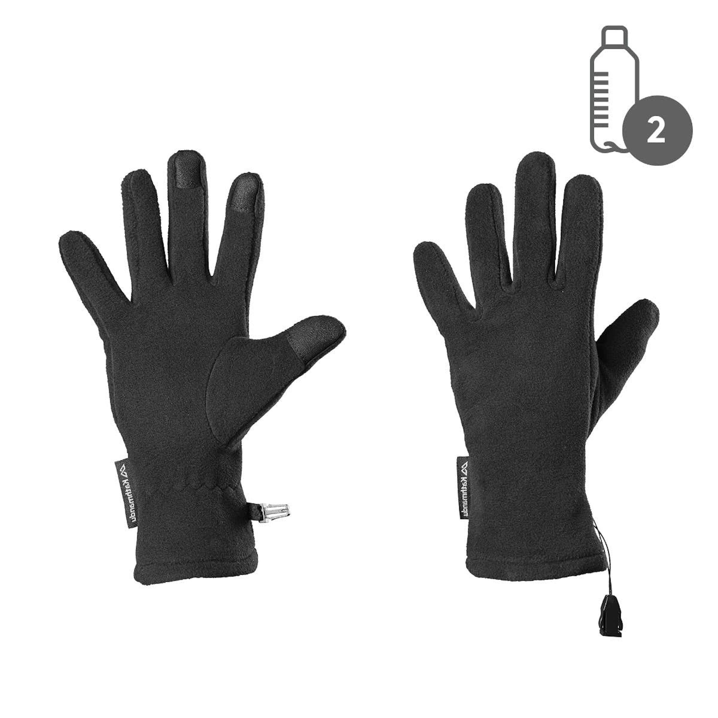 ce540483247 Fleece Gloves v5 - Black
