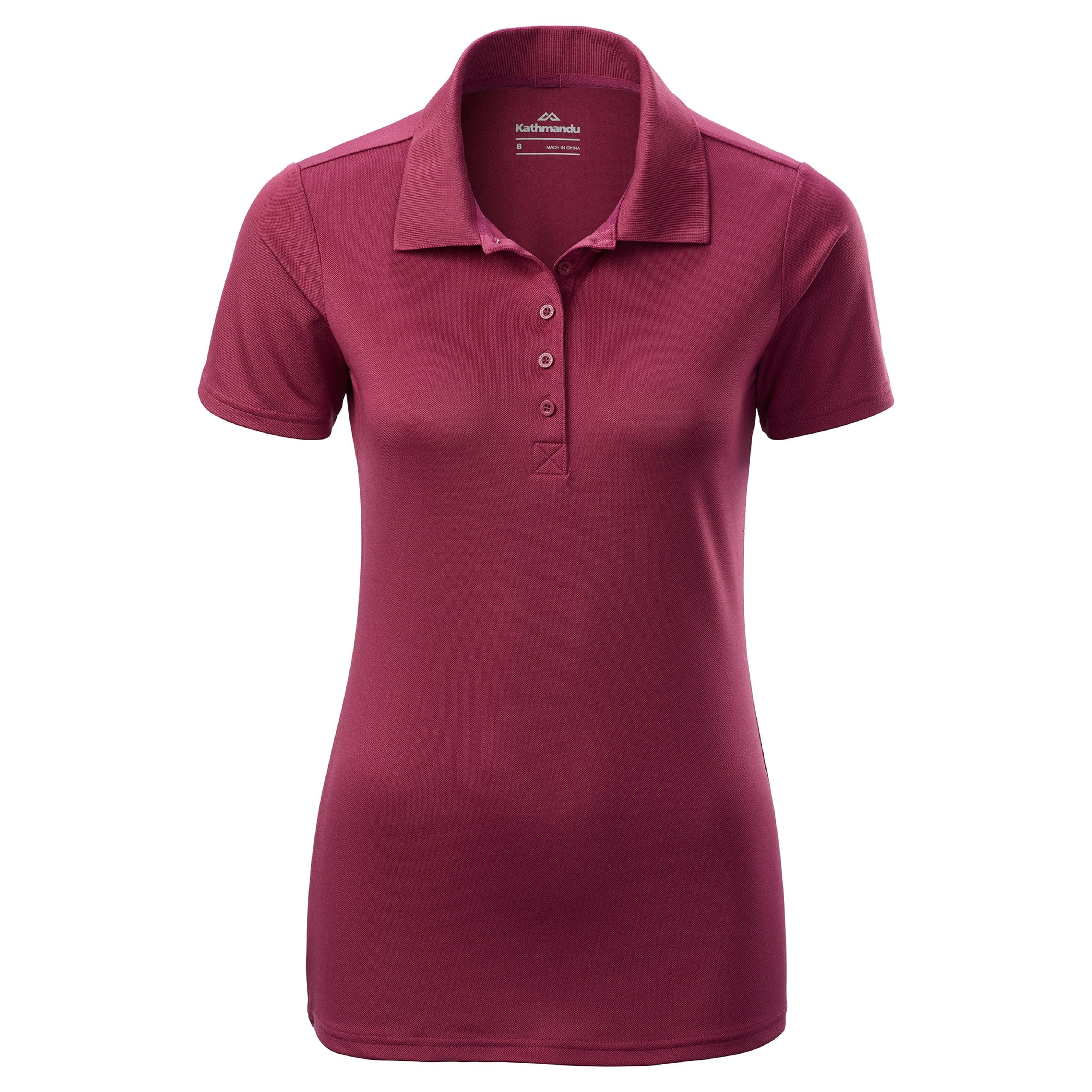 Vanua Women s Short Sleeve Polo Shirt v2 - Putty 5088350c1c