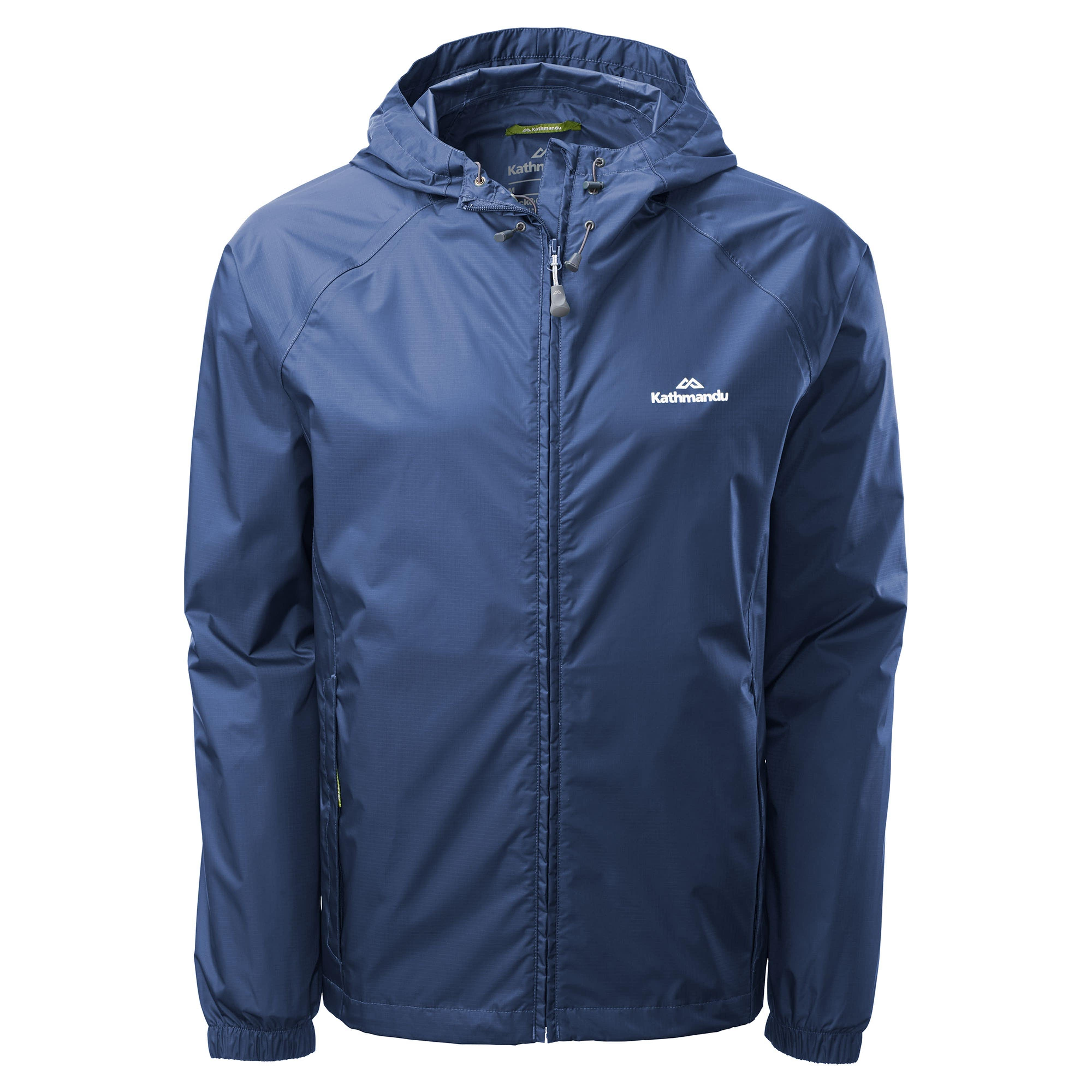 Pocket-it Men s Rain Jacket v3 - Storm Blue aa3656777d10