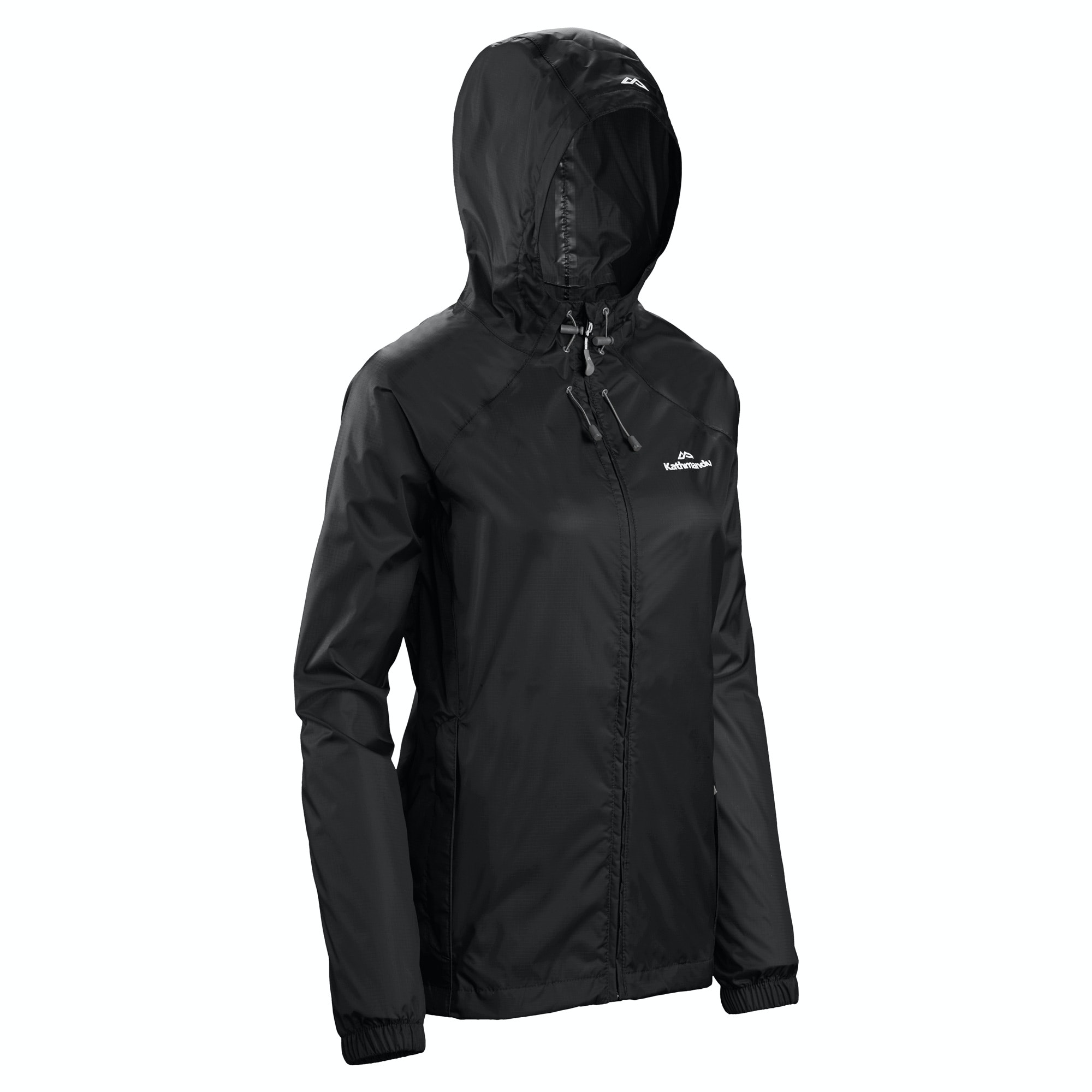 NEW-Kathmandu-Pocket-it-Women-039-s-Hooded-Water-Resistant-Packaway-Light-Rain thumbnail 10