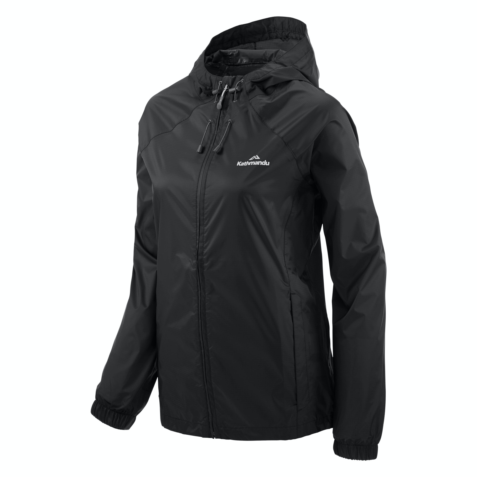 NEW-Kathmandu-Pocket-it-Women-039-s-Hooded-Water-Resistant-Packaway-Light-Rain thumbnail 9