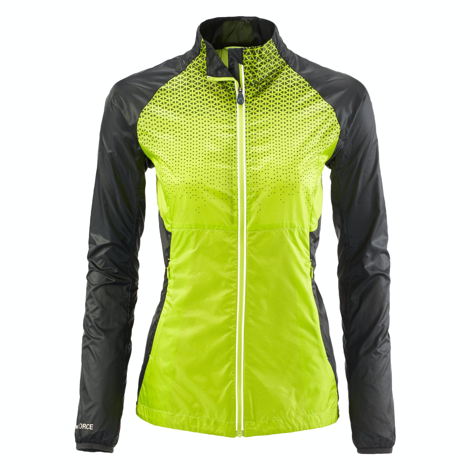 9d8ce976f Details about NEW Kathmandu Lite Ace Pro Women's Windbreaker Reflective  Active Running Jacket