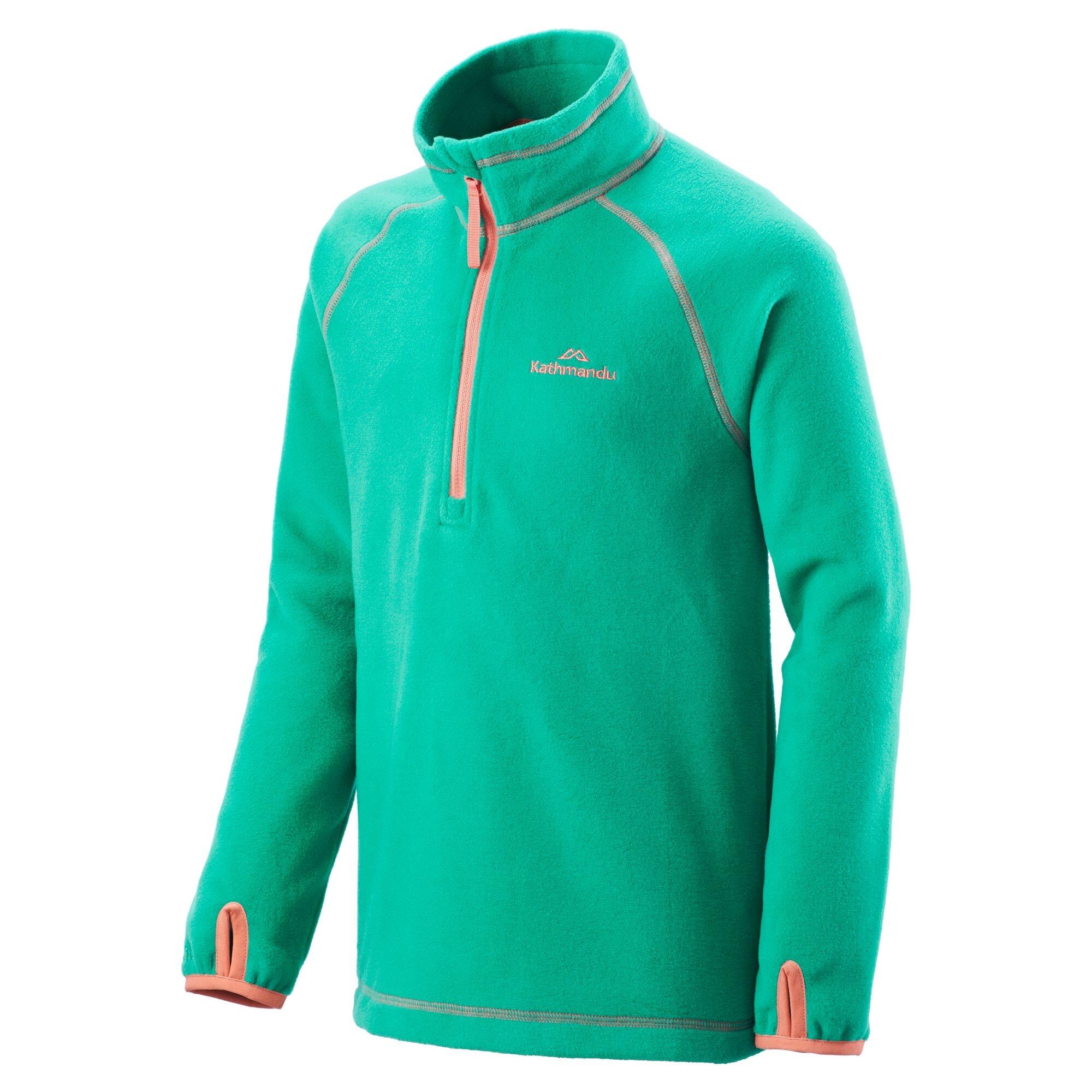 NEW-Kathmandu-Ridge-Kids-039-Girls-039-Boys-039-Warm-Fleece-Jacket-1-4-Zip-Pullover-Top thumbnail 27