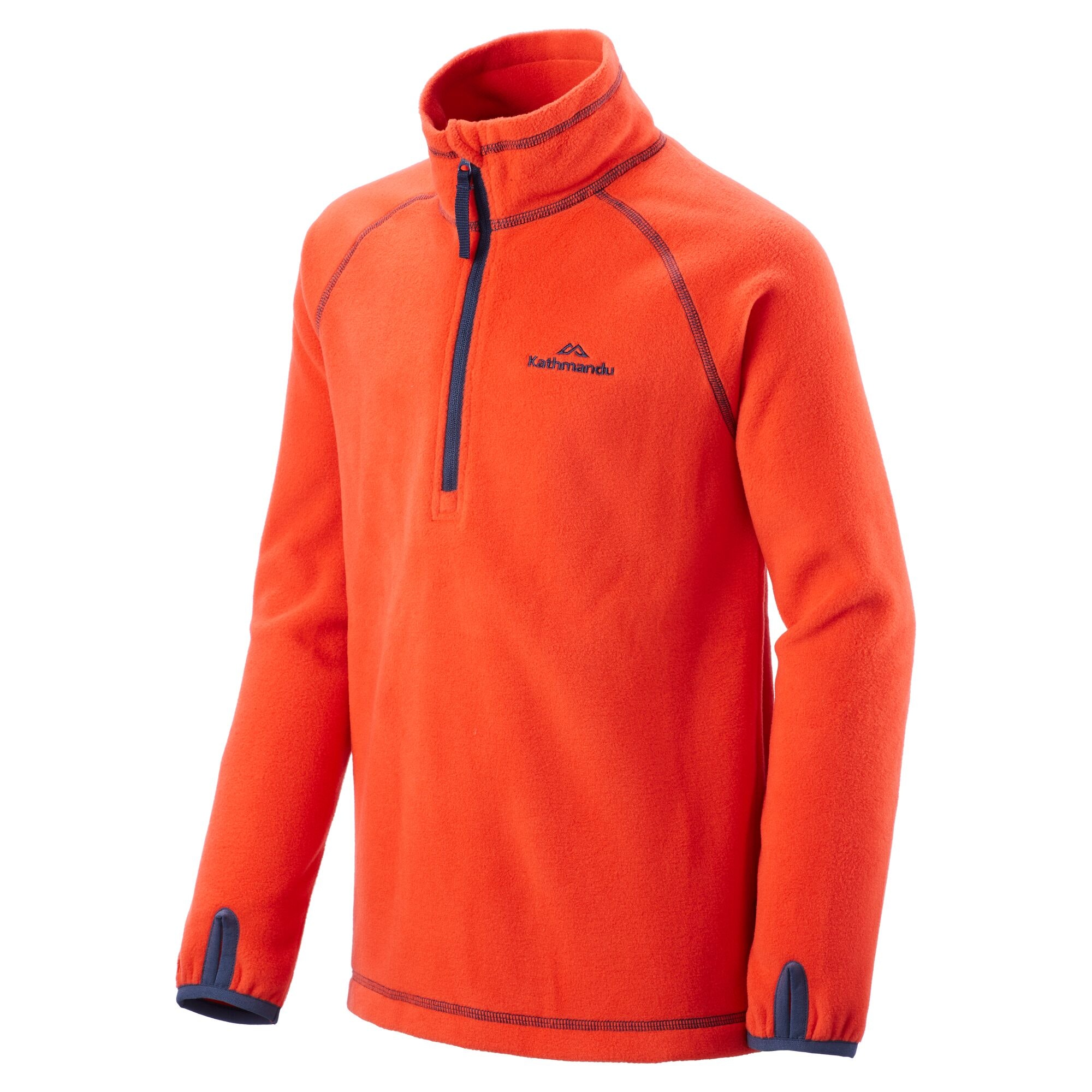 NEW-Kathmandu-Ridge-Kids-039-Girls-039-Boys-039-Warm-Fleece-Jacket-1-4-Zip-Pullover-Top thumbnail 31