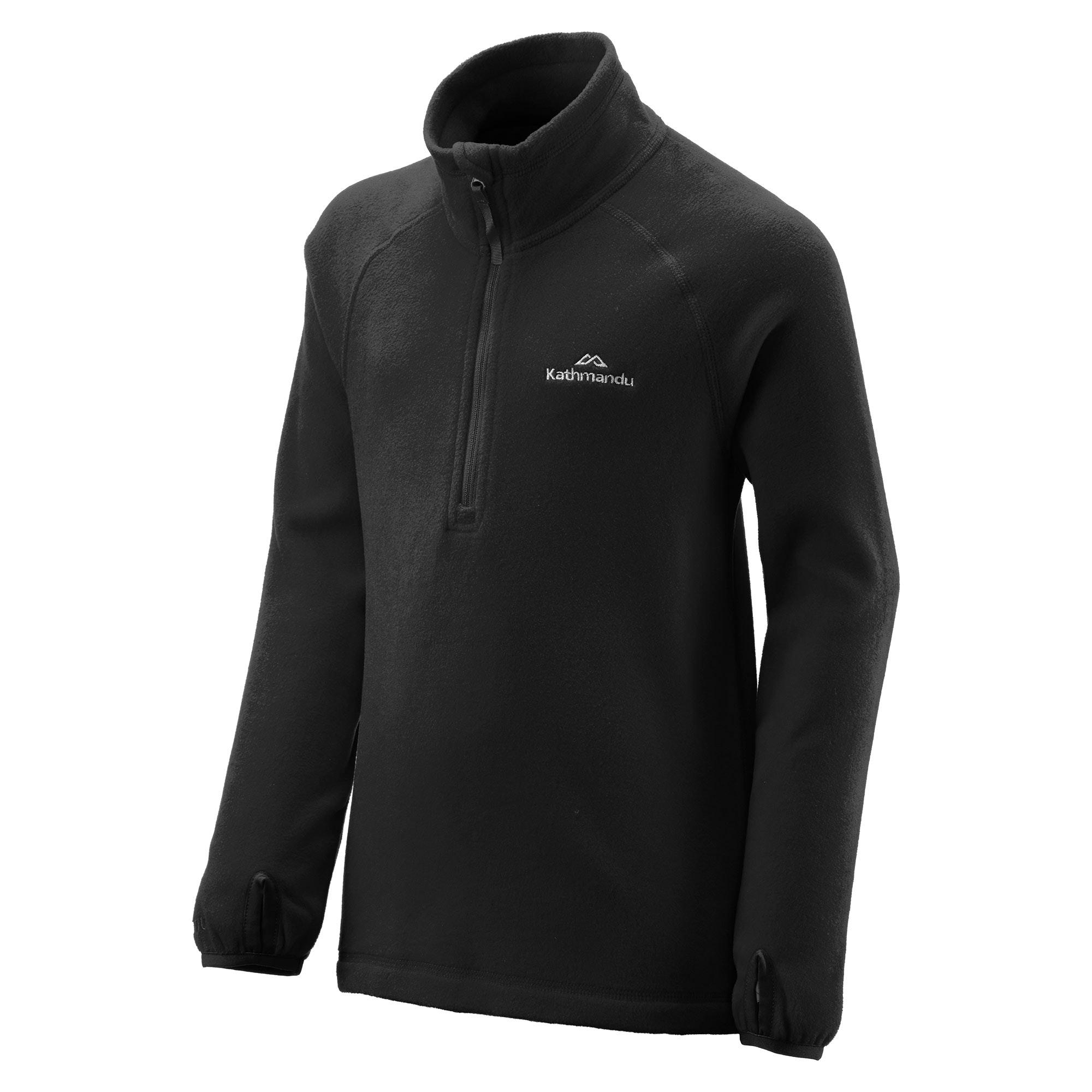 NEW-Kathmandu-Ridge-Kids-039-Girls-039-Boys-039-Warm-Fleece-Jacket-1-4-Zip-Pullover-Top thumbnail 13