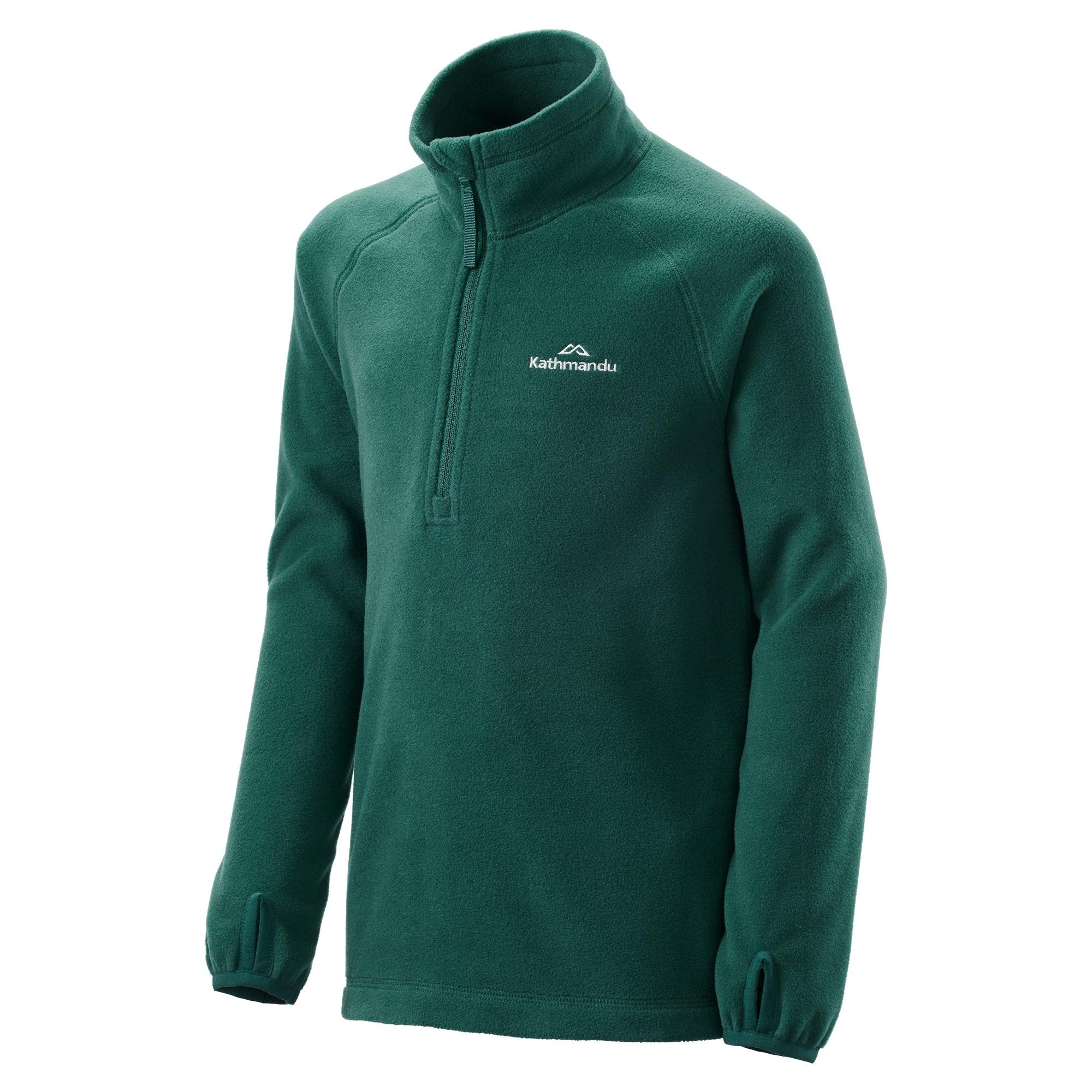 NEW-Kathmandu-Ridge-Kids-039-Girls-039-Boys-039-Warm-Fleece-Jacket-1-4-Zip-Pullover-Top thumbnail 17