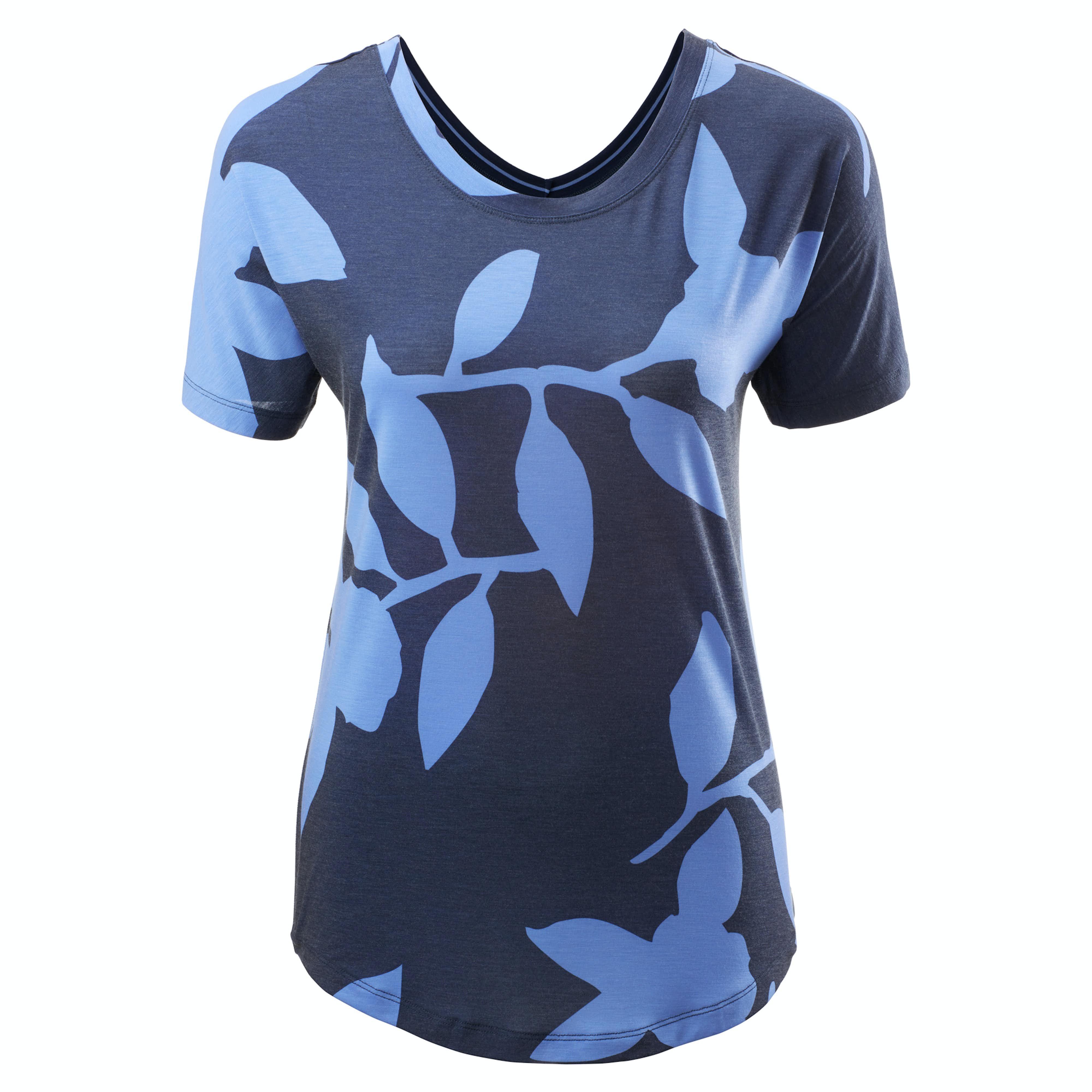 f5121311da51 Adapt Women s Reversible T-shirt - Black Pinstripe