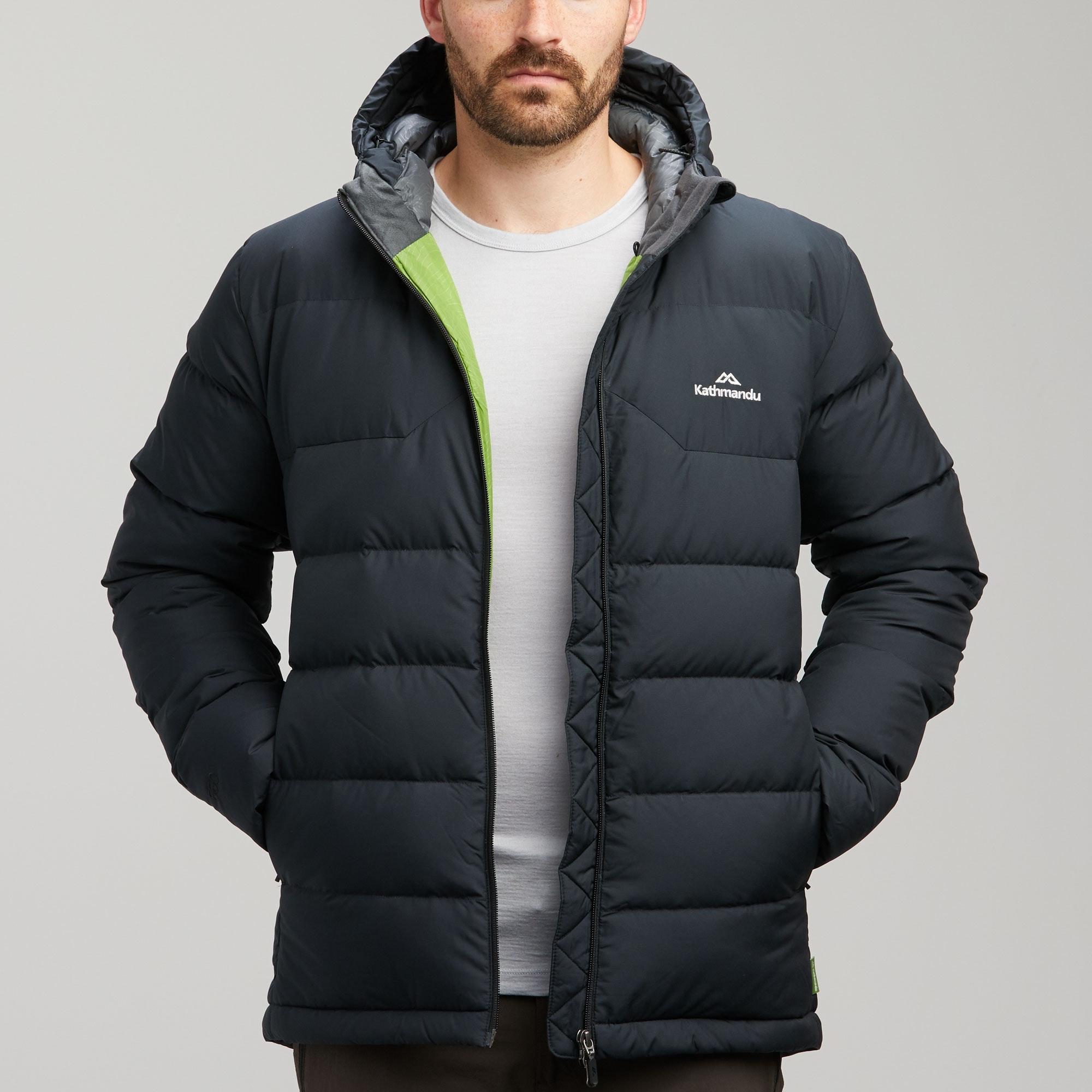 NEW-Kathmandu-Epiq-Men-039-s-Hooded-Warm-Winter-Duck-Down-Puffer-Jacket-v2 thumbnail 10