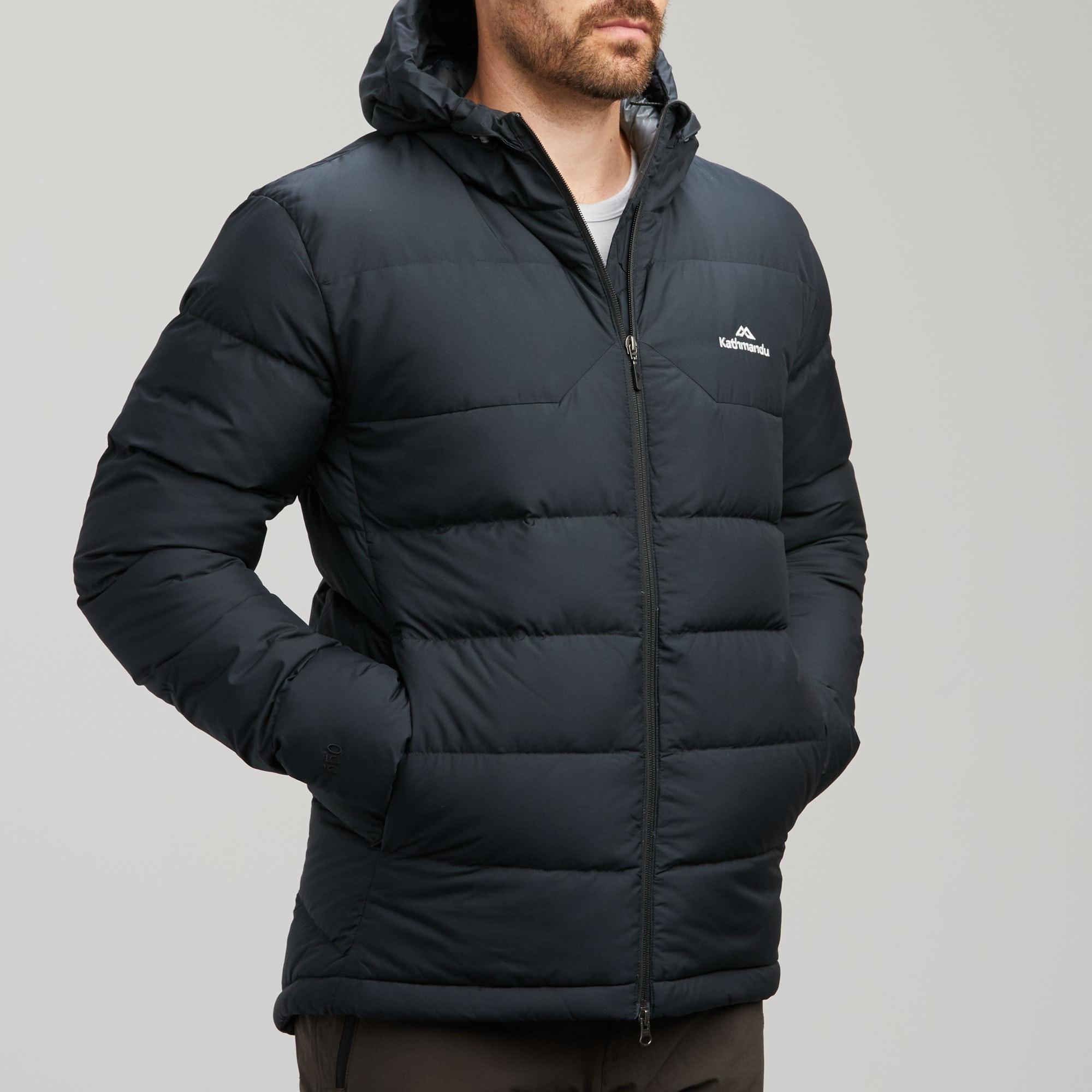 NEW-Kathmandu-Epiq-Men-039-s-Hooded-Warm-Winter-Duck-Down-Puffer-Jacket-v2 thumbnail 11