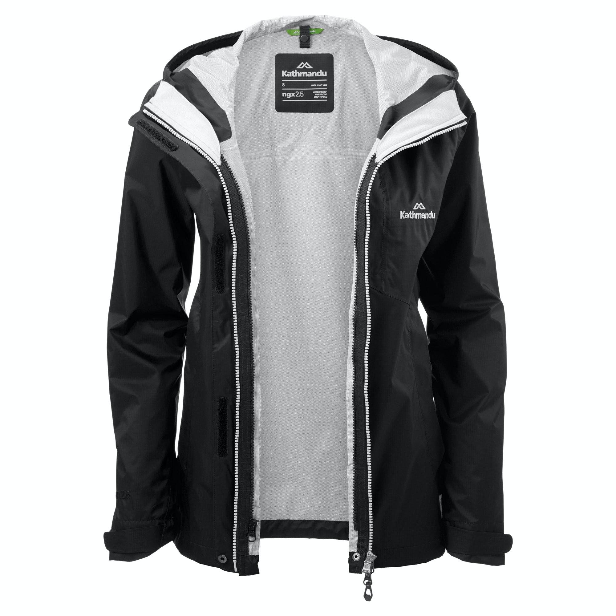 22bc4143e Details about NEW Kathmandu Trailhead Womens Lightweight Hiking Waterproof  Rain Jacket Coat
