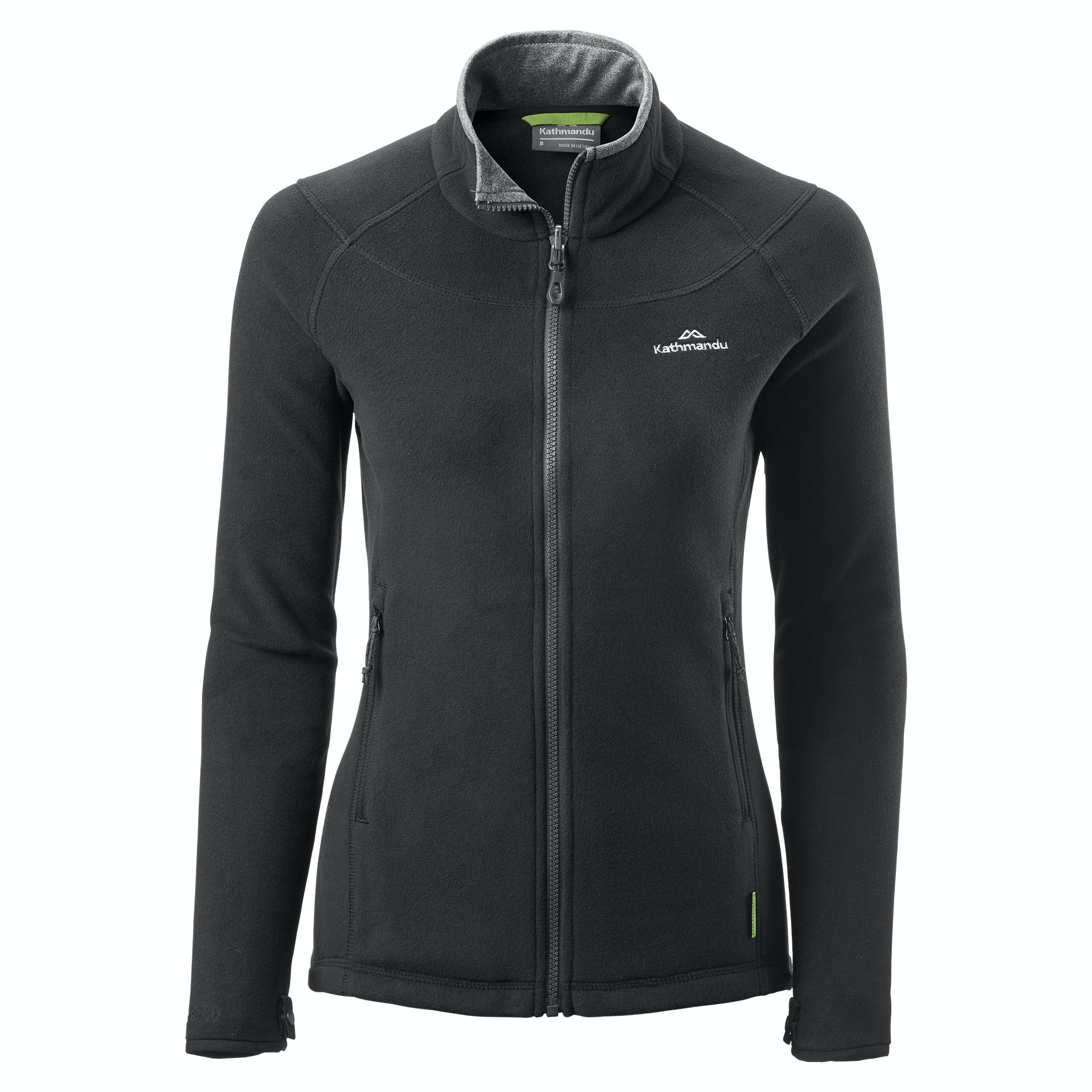 New Kathmandu Trailhead Women S High Collar Full Zip Warm