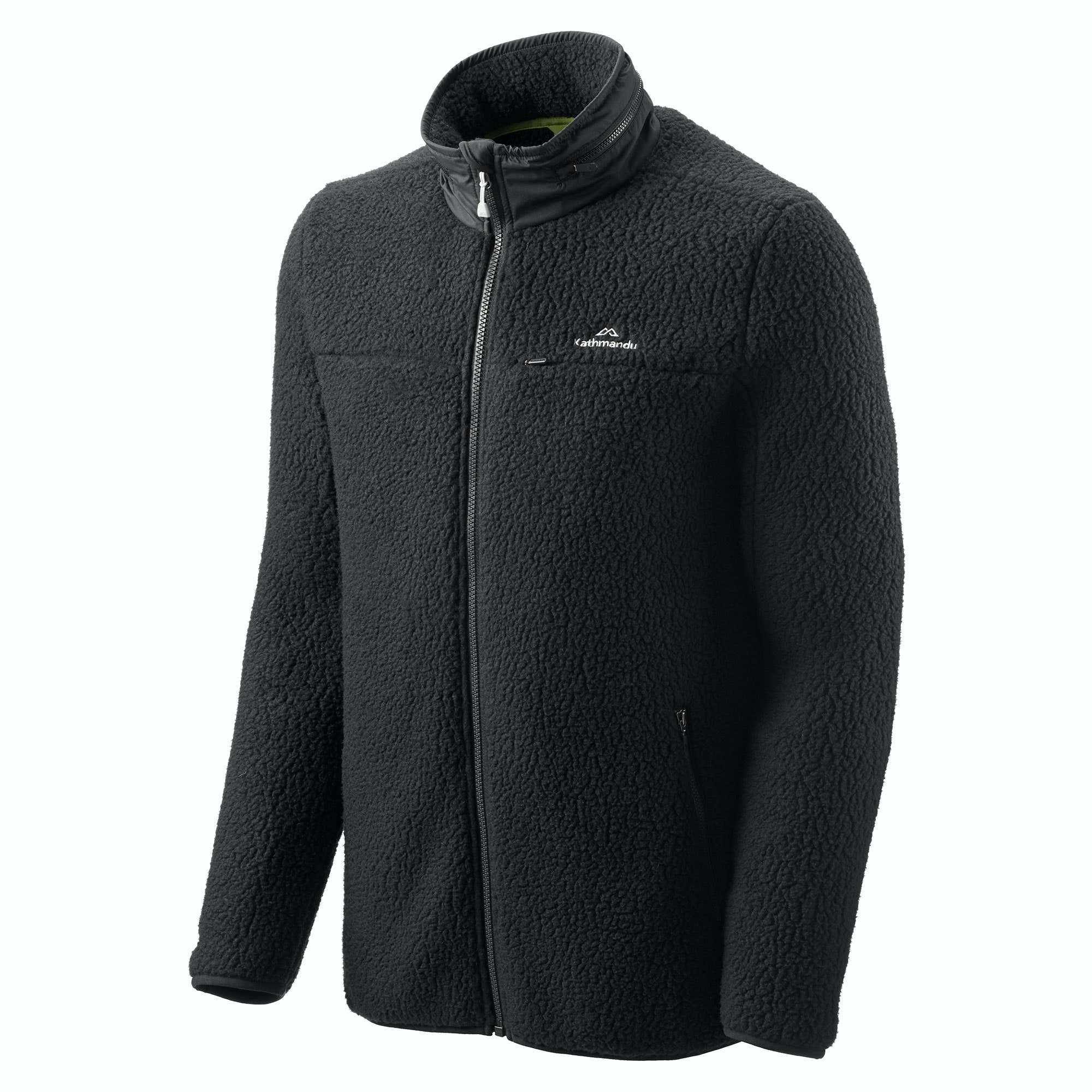NEW-Kathmandu-Baffin-Island-Men-039-s-Full-Zip-Hooded-Warm-Outdoor-Fleece-Jacket thumbnail 5