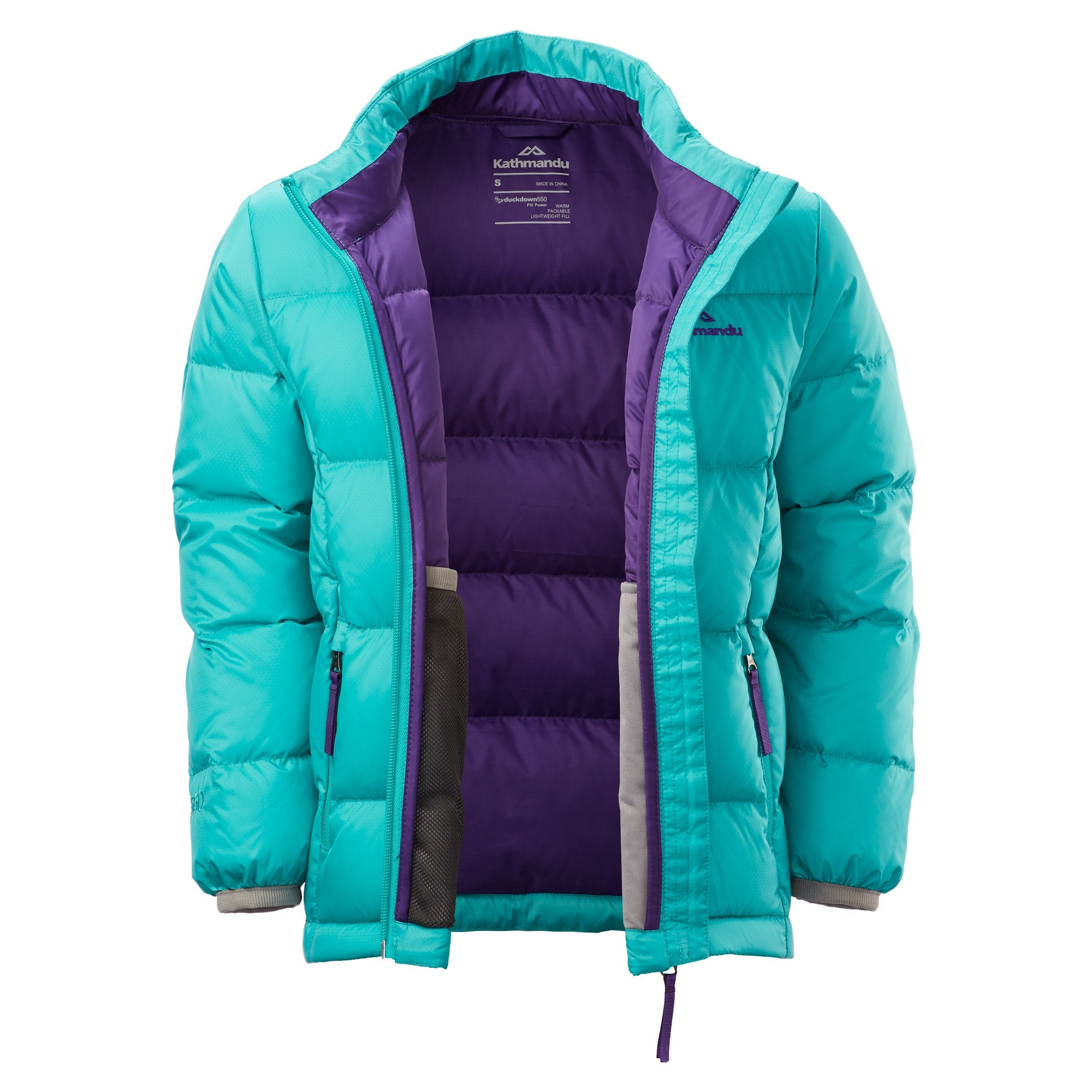 Kathmandu-Elcho-Kids-Boys-Girls-Hood-Warm-Winter-Outdoor-Duck-Down-Puffer-Jacket thumbnail 16