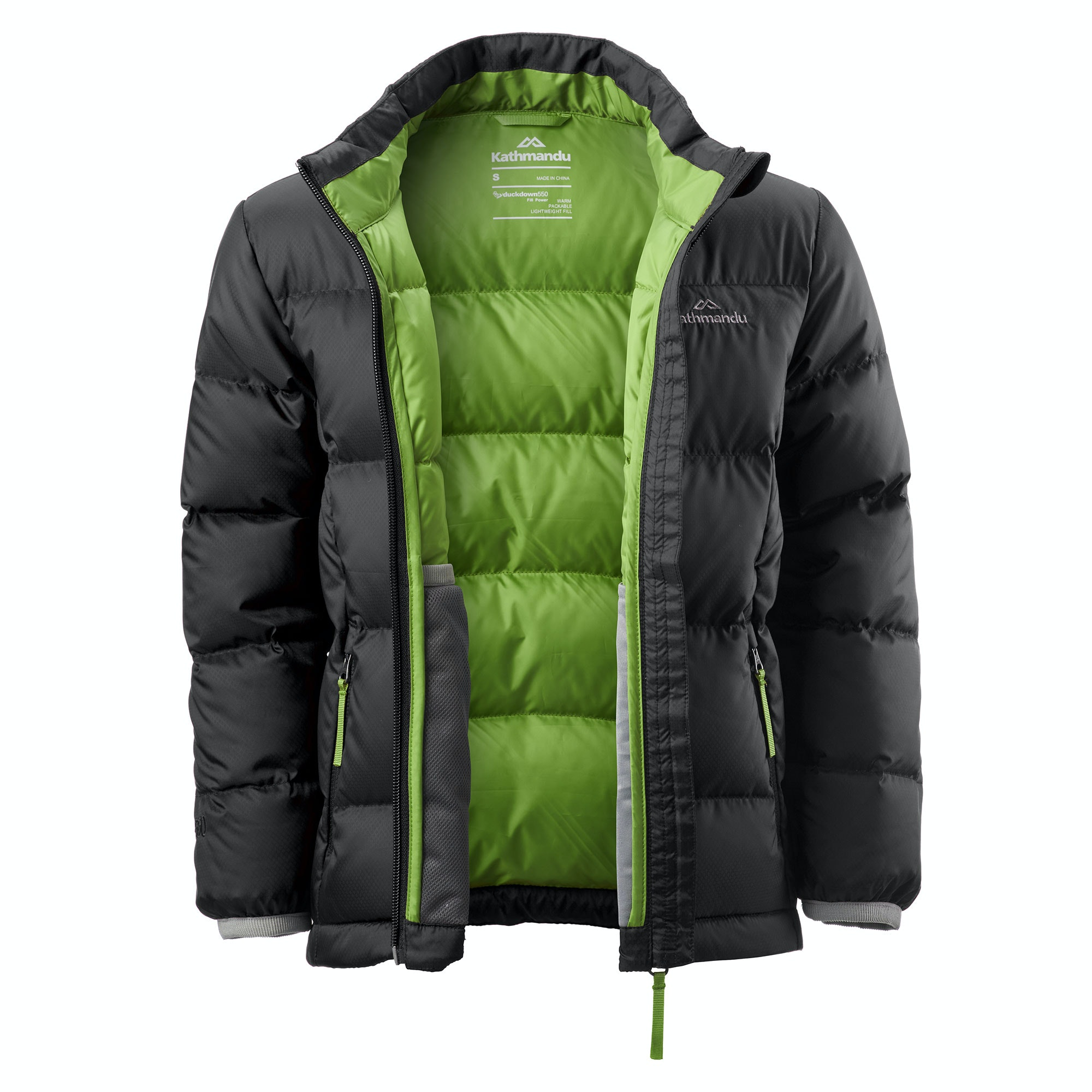 Kathmandu-Elcho-Kids-Boys-Girls-Hood-Warm-Winter-Outdoor-Duck-Down-Puffer-Jacket thumbnail 9