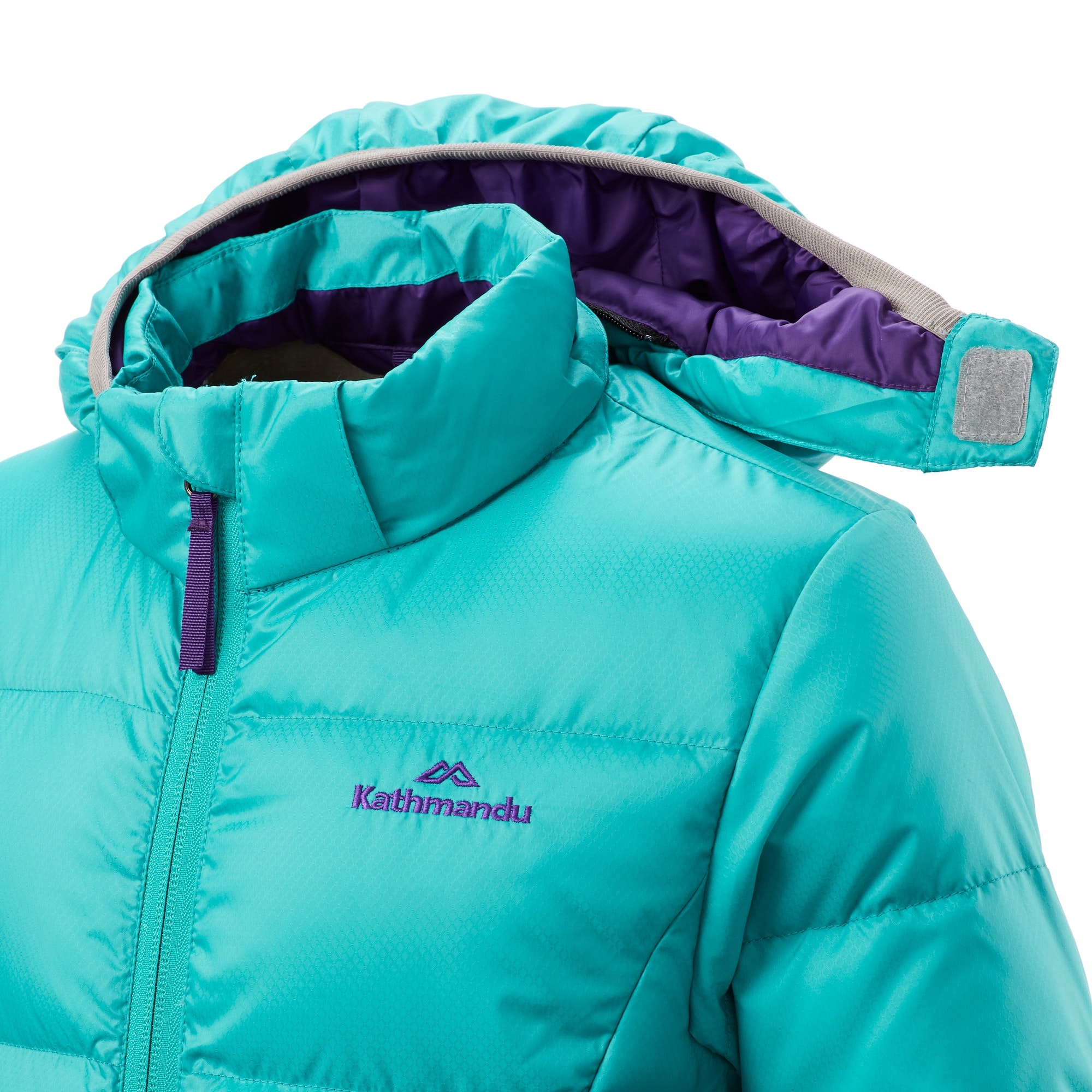 Kathmandu-Elcho-Kids-Boys-Girls-Hood-Warm-Winter-Outdoor-Duck-Down-Puffer-Jacket thumbnail 17