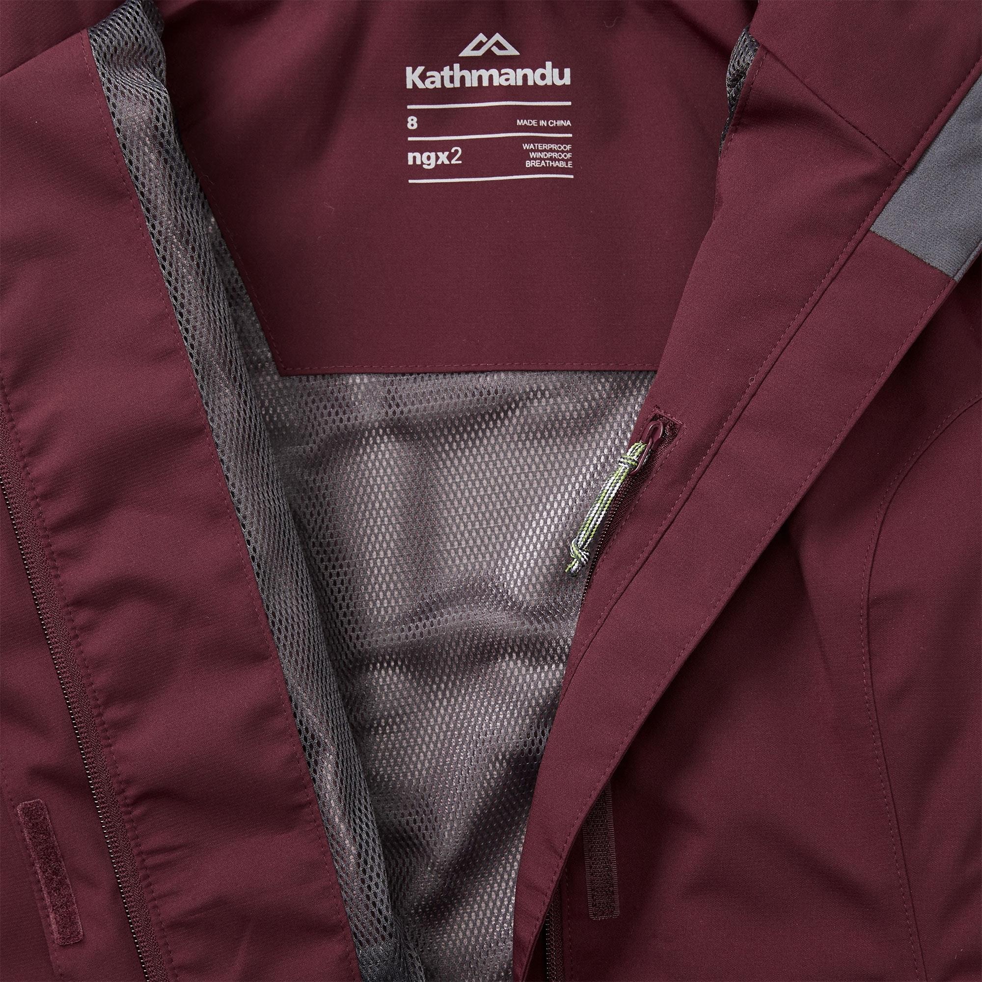Kathmandu-Andulo-Womens-2-Layer-Windproof-Waterproof-Outdoor-Hiking-Rain-Jacket thumbnail 24