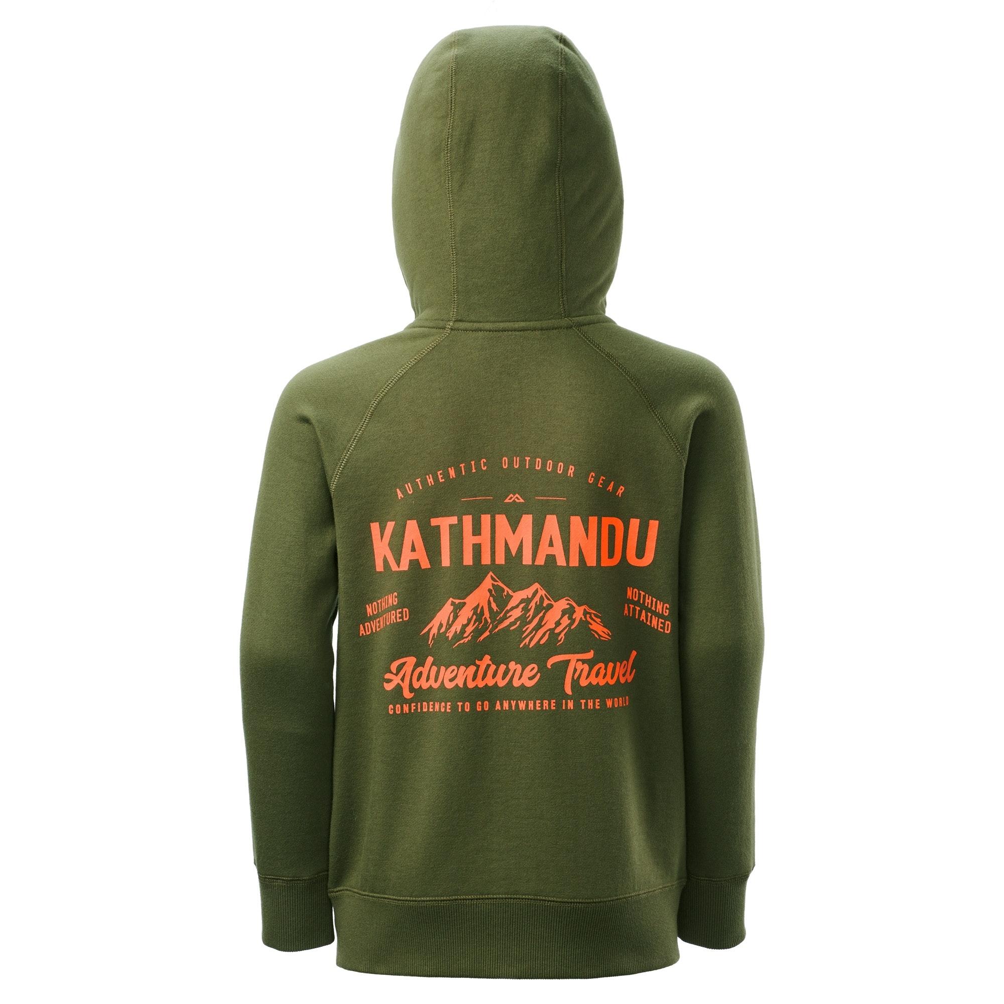 NEW-Kathmandu-Youth-Boy-039-s-Girl-039-s-Full-Zip-Hooded-Winter-Warm-Fleece-Jacket thumbnail 13