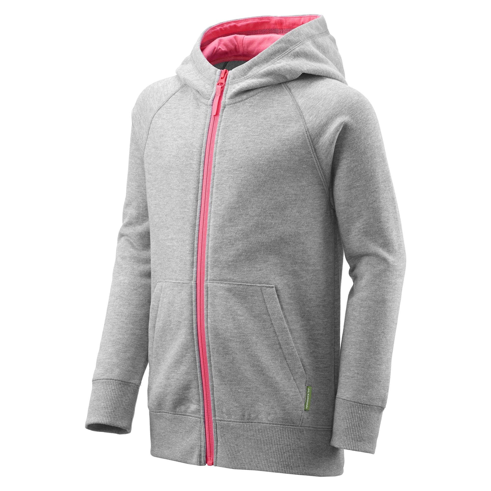 NEW-Kathmandu-Youth-Boy-039-s-Girl-039-s-Full-Zip-Hooded-Winter-Warm-Fleece-Jacket thumbnail 19