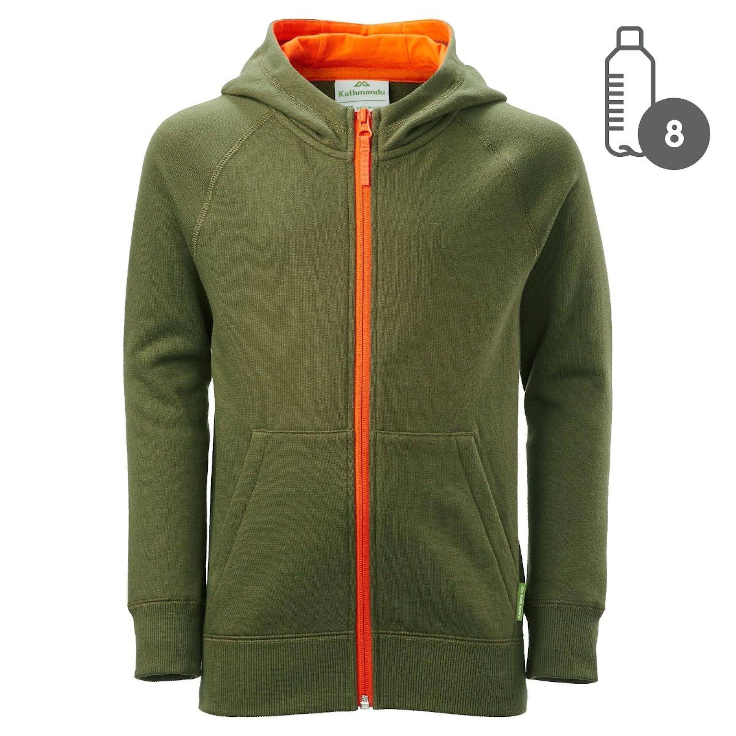 60fd01b0 KMD Youth Zip Hooded Jacket