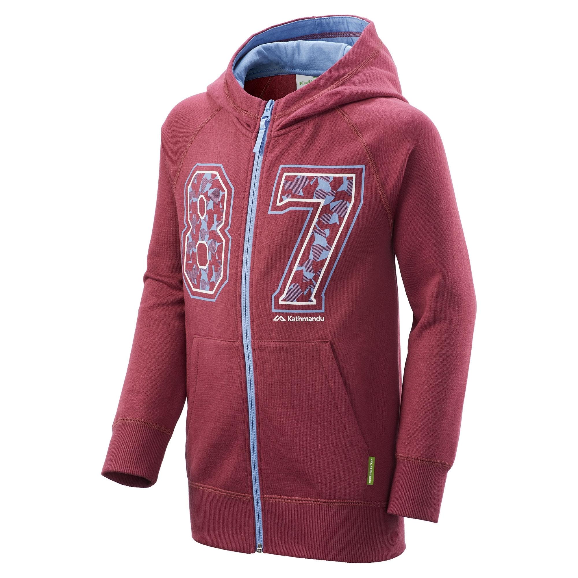 NEW-Kathmandu-Youth-Boy-039-s-Girl-039-s-Full-Zip-Hooded-Winter-Warm-Fleece-Jacket thumbnail 24