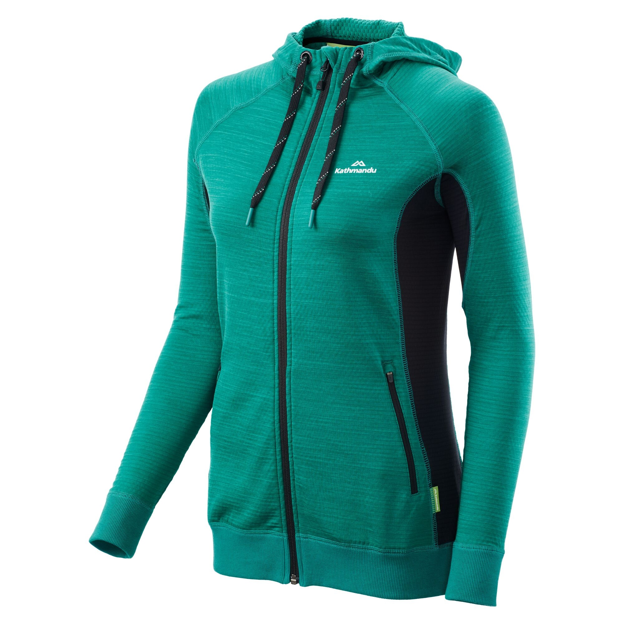 NEW-Kathmandu-Acota-Women-s-Hooded-Fleece-Lightweight-Breathable-Outdoor-Jacket thumbnail 14