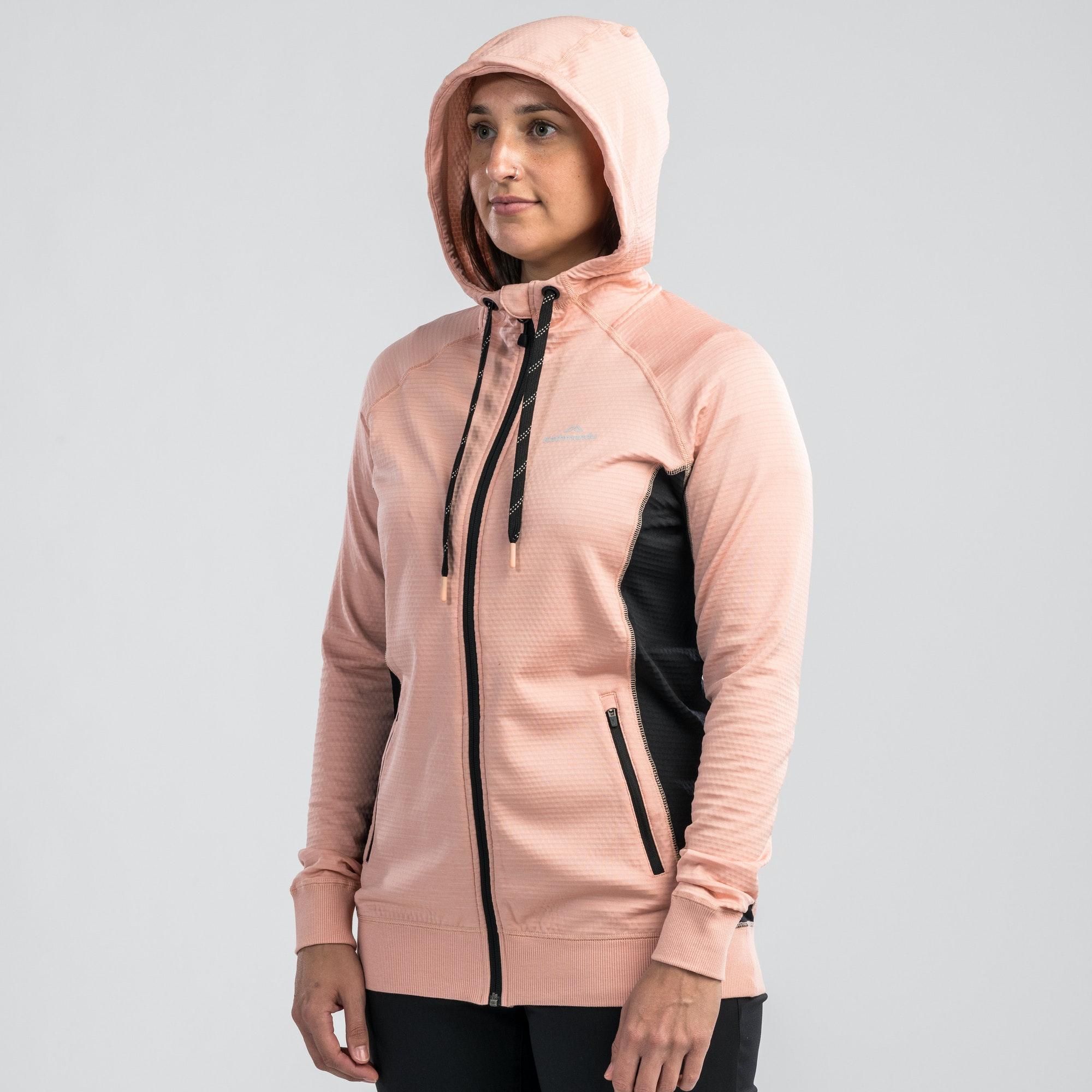 NEW-Kathmandu-Acota-Women-s-Hooded-Fleece-Lightweight-Breathable-Outdoor-Jacket thumbnail 35