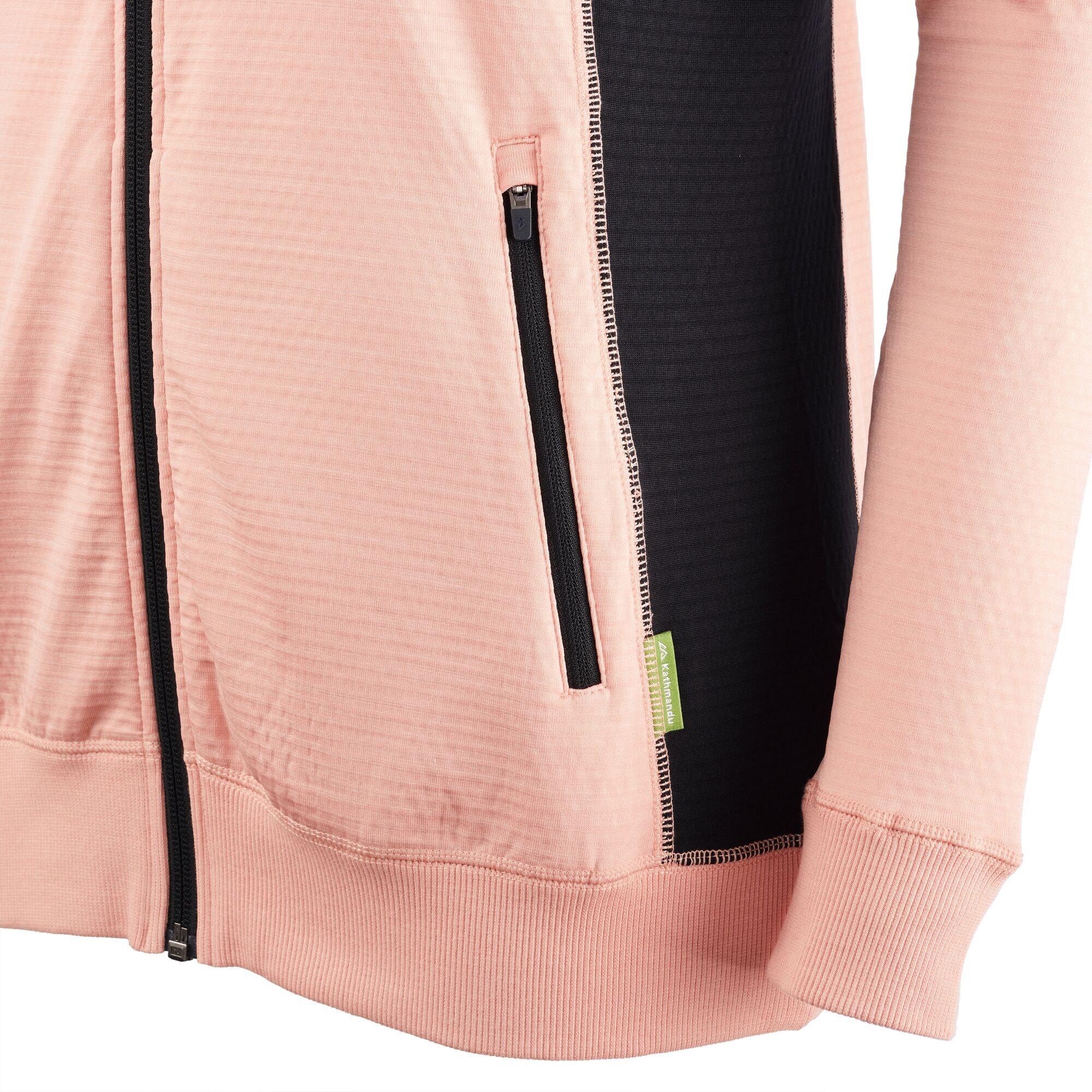 NEW-Kathmandu-Acota-Women-s-Hooded-Fleece-Lightweight-Breathable-Outdoor-Jacket thumbnail 34