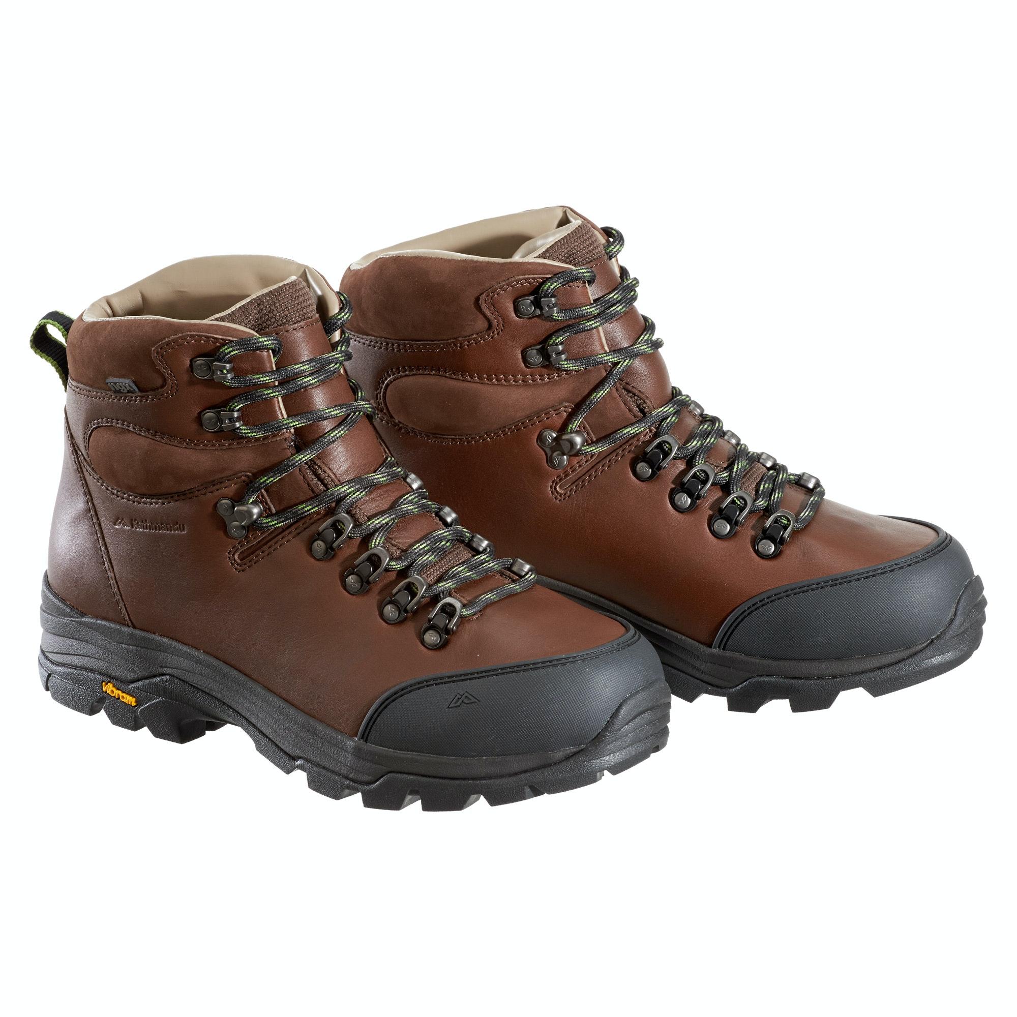 NGX Waterproof Leather Hiking Walking Boots