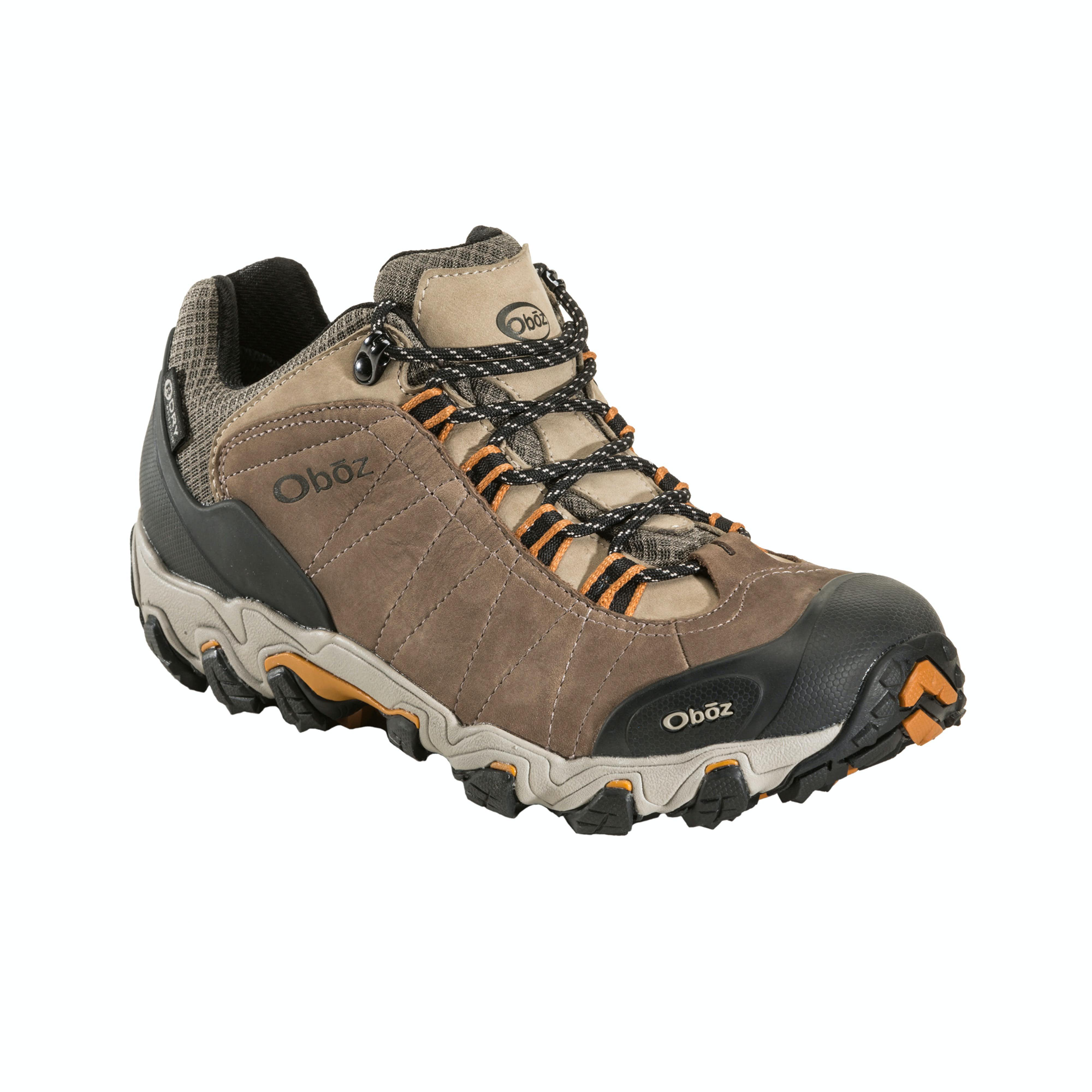 cc836de859e OBOZ Bridger Low Bdry Men's Hiking Shoes
