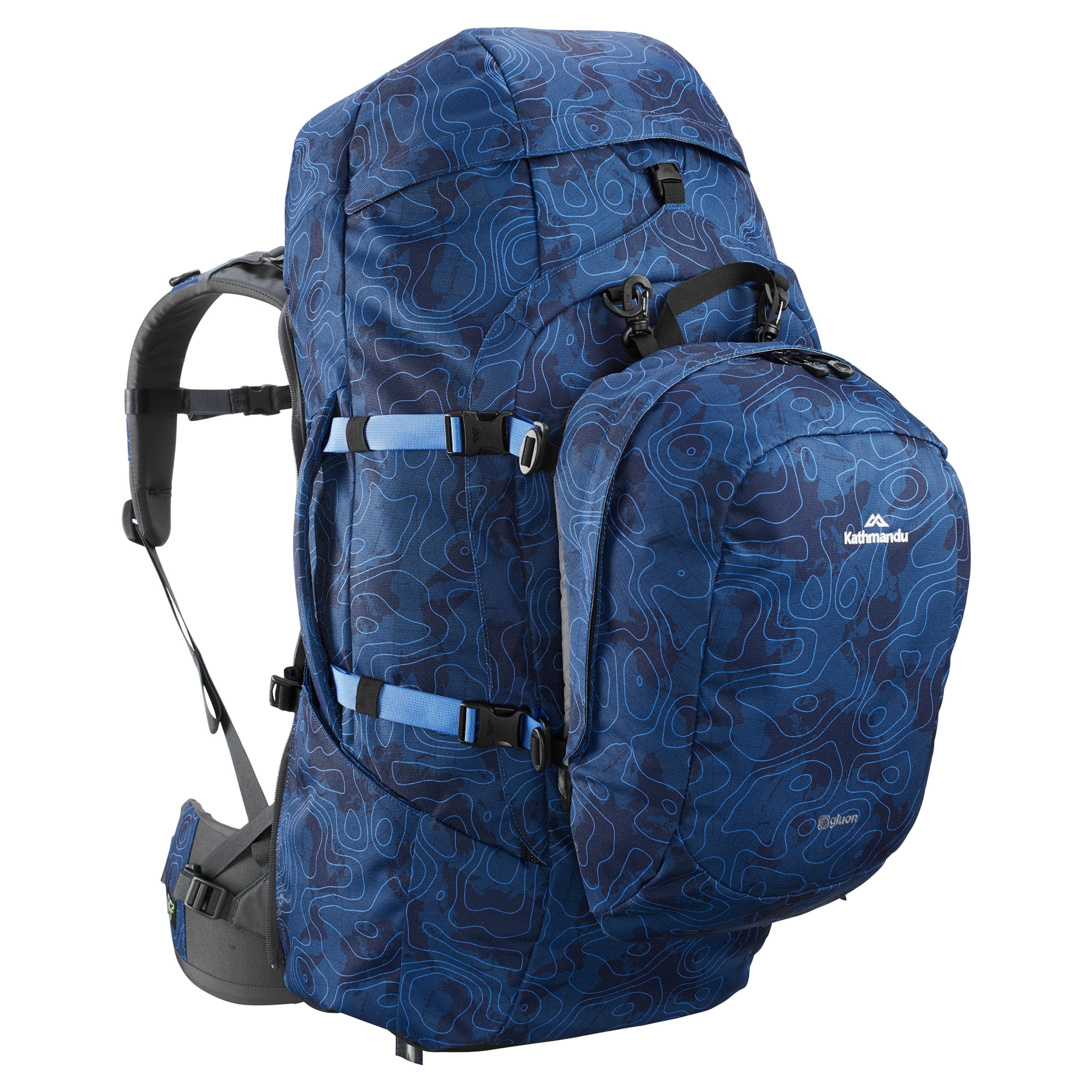 Entrada 65L Backpack v2 - Midnight Blue 69e3fcab28