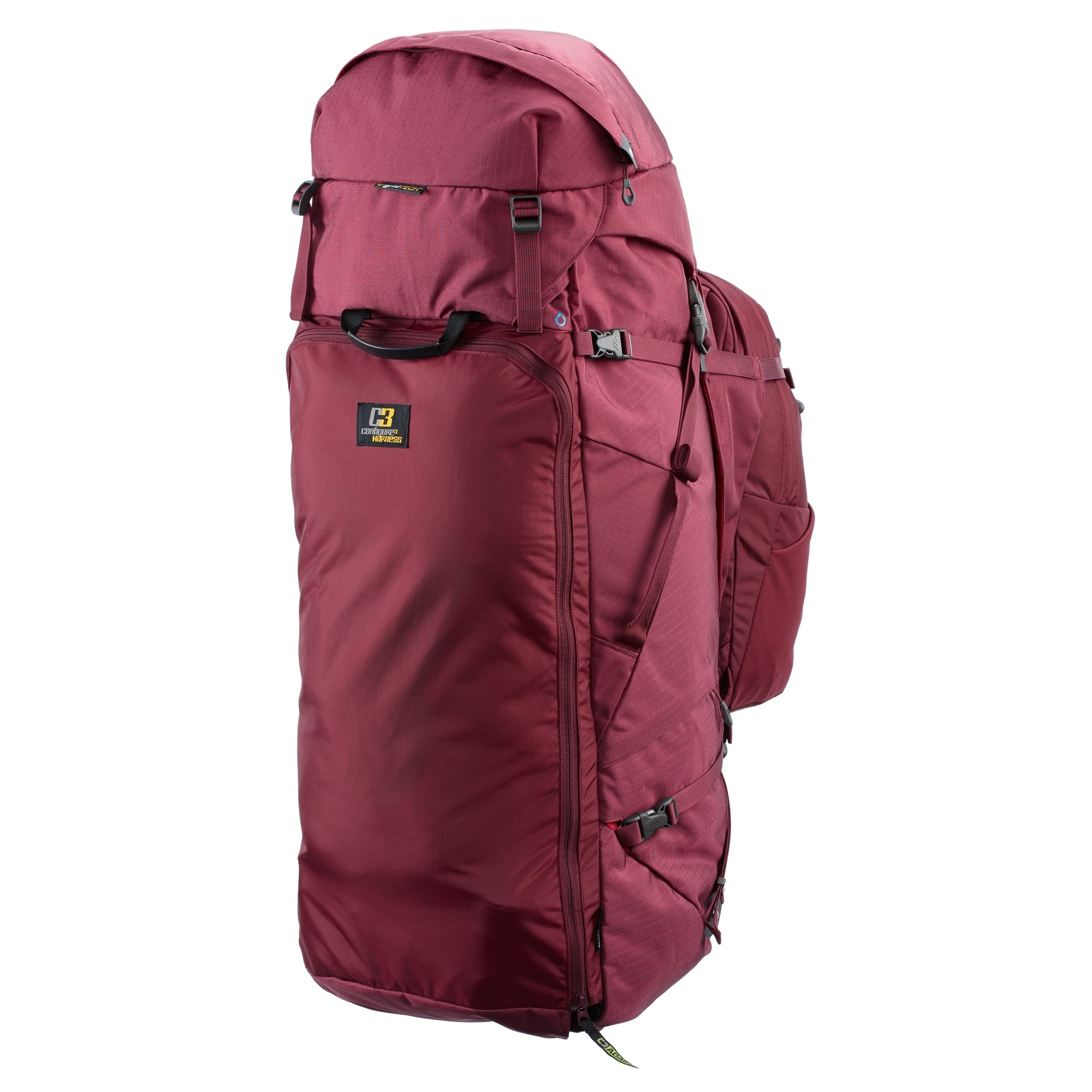 NEW-Kathmandu-Interloper-gridTECH-70L-Hiking-Travel-Backpack-Luggage-with thumbnail 12