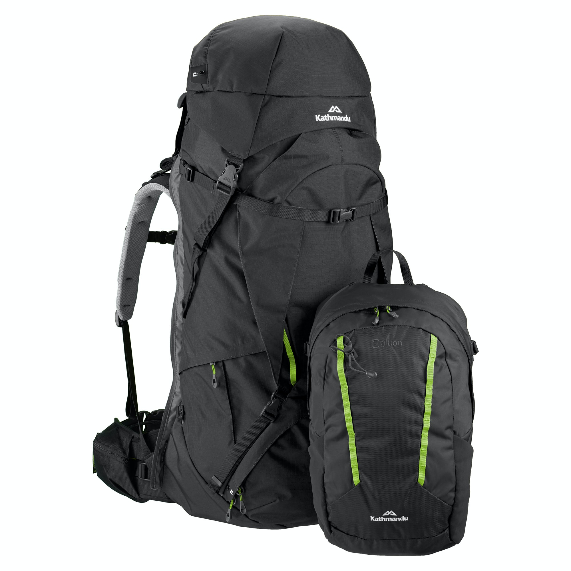 NEW-Kathmandu-Interloper-gridTECH-70L-Hiking-Travel-Backpack-Luggage-with thumbnail 8
