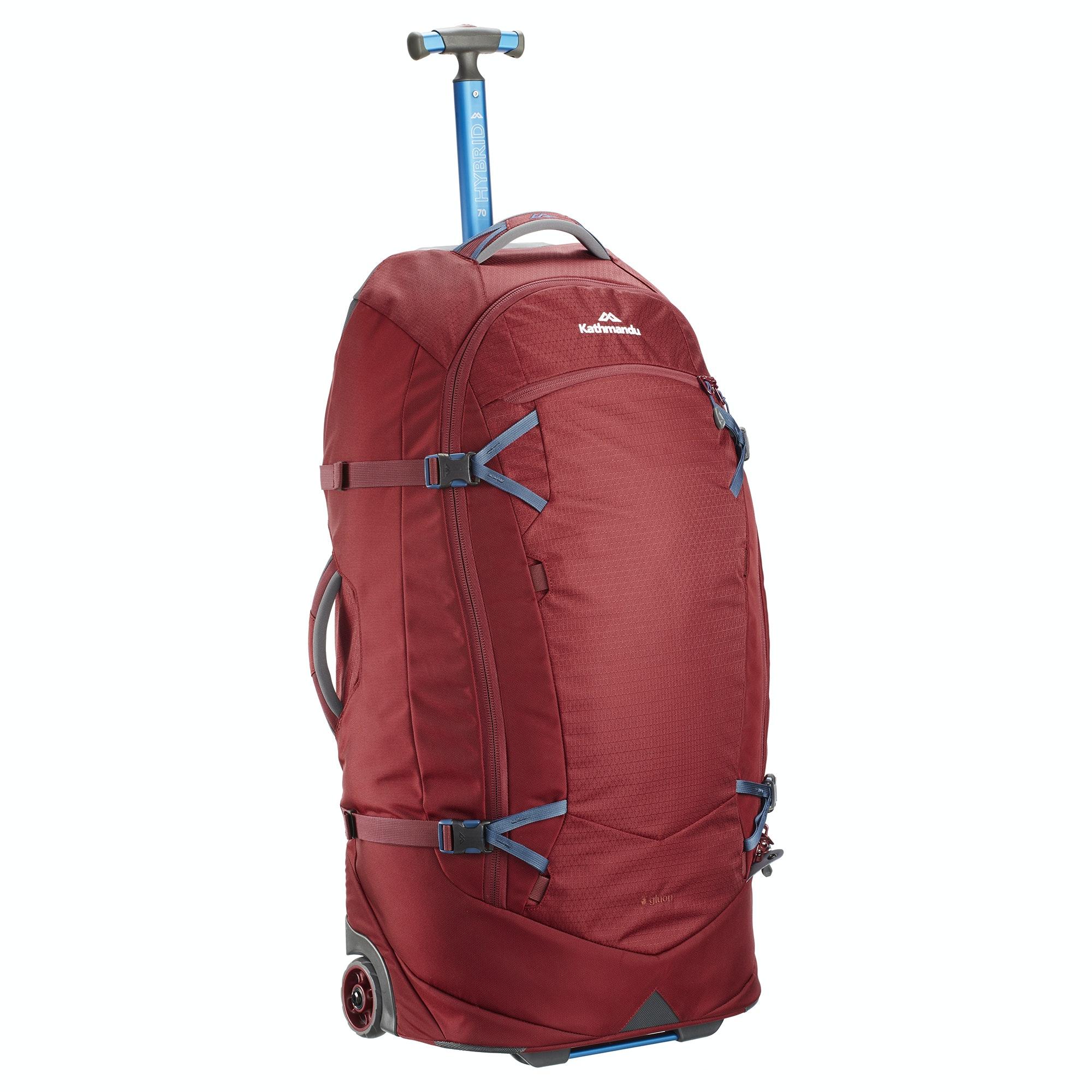 thumbnail 32 - NEW-Kathmandu-Hybrid-70L-Backpack-Wheeled-Handle-Luggage-Bag-Travel-Trolley