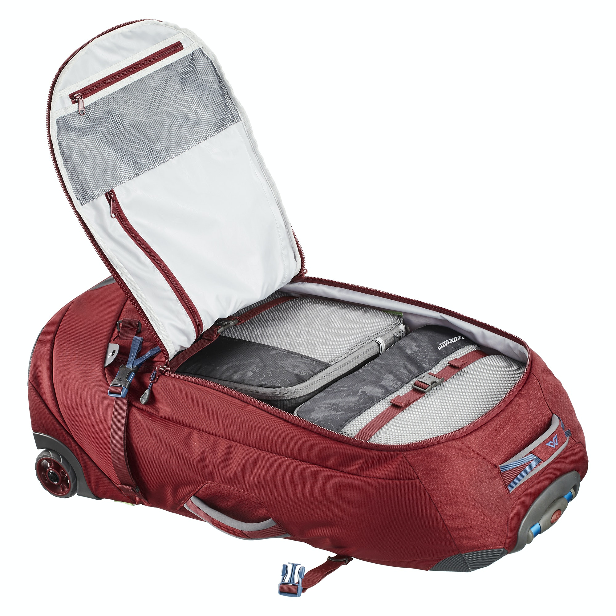 thumbnail 35 - NEW-Kathmandu-Hybrid-70L-Backpack-Wheeled-Handle-Luggage-Bag-Travel-Trolley