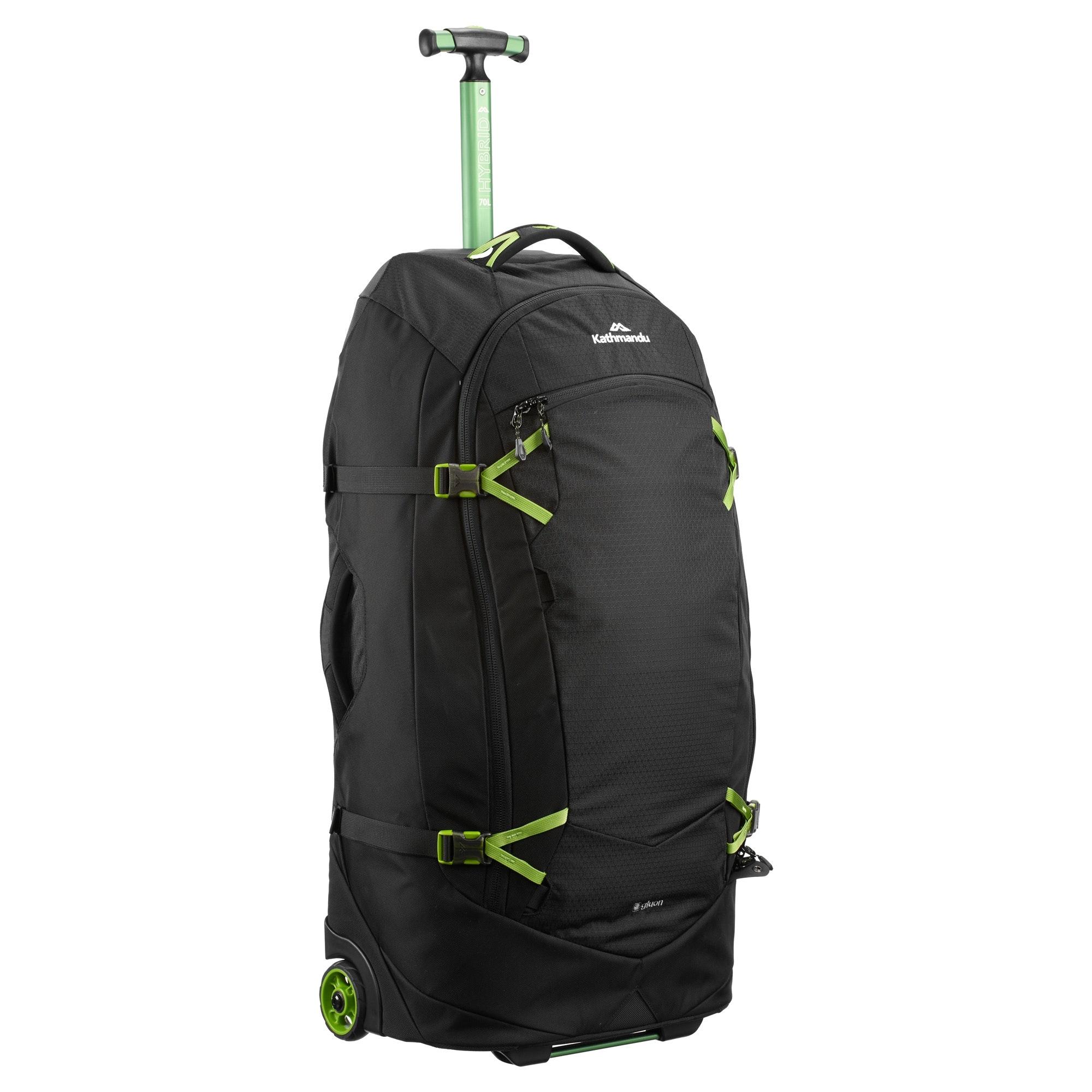 thumbnail 9 - NEW-Kathmandu-Hybrid-70L-Backpack-Wheeled-Handle-Luggage-Bag-Travel-Trolley