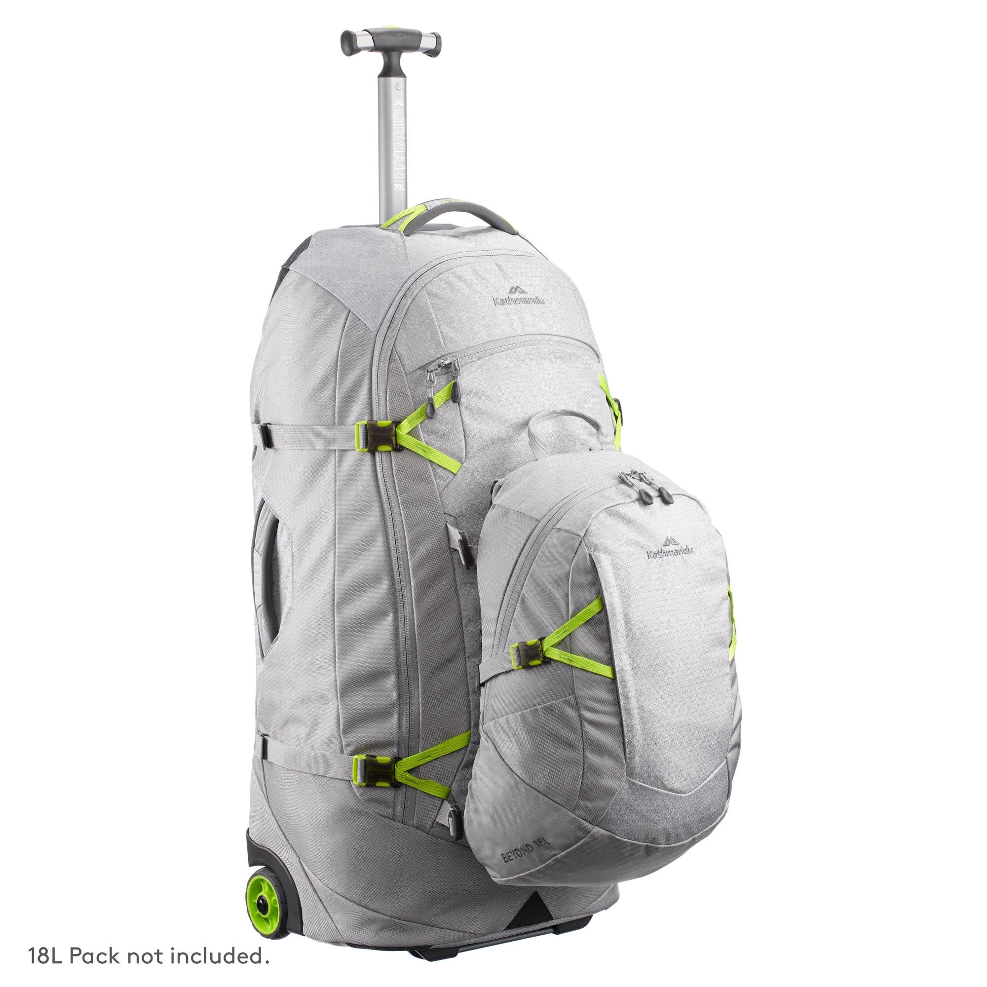 thumbnail 30 - NEW-Kathmandu-Hybrid-70L-Backpack-Wheeled-Handle-Luggage-Bag-Travel-Trolley