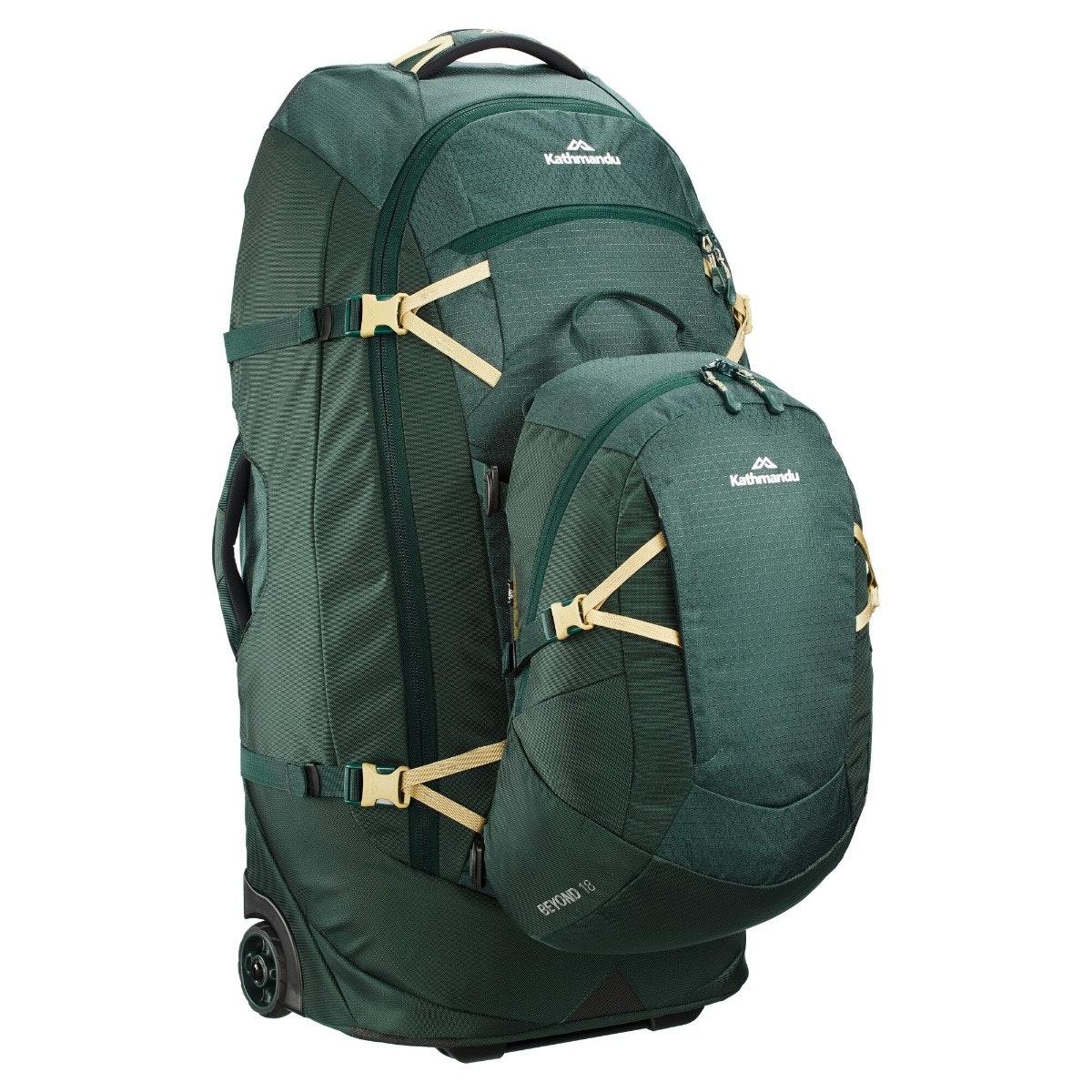 thumbnail 25 - NEW-Kathmandu-Hybrid-70L-Backpack-Wheeled-Handle-Luggage-Bag-Travel-Trolley