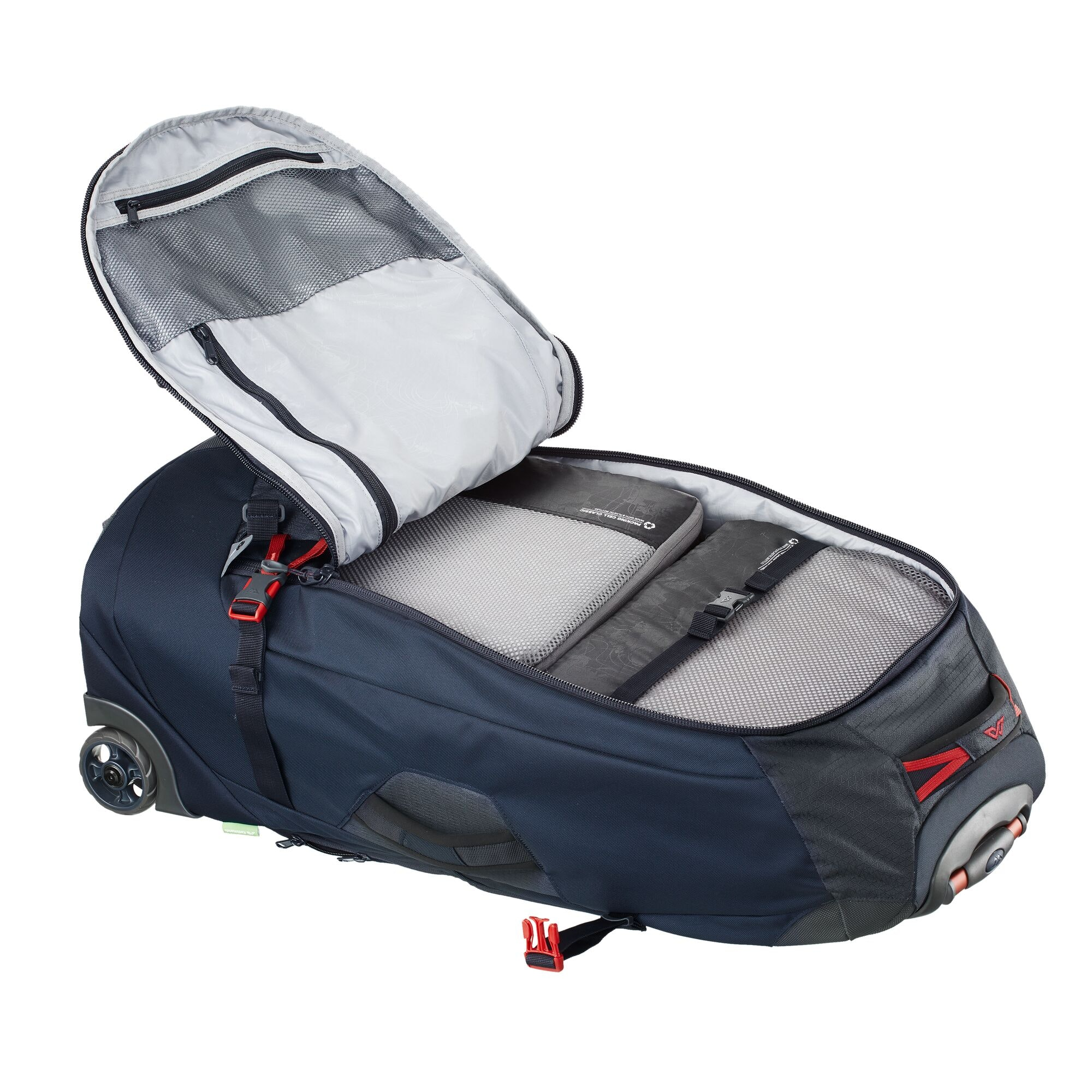 thumbnail 14 - NEW-Kathmandu-Hybrid-70L-Backpack-Wheeled-Handle-Luggage-Bag-Travel-Trolley