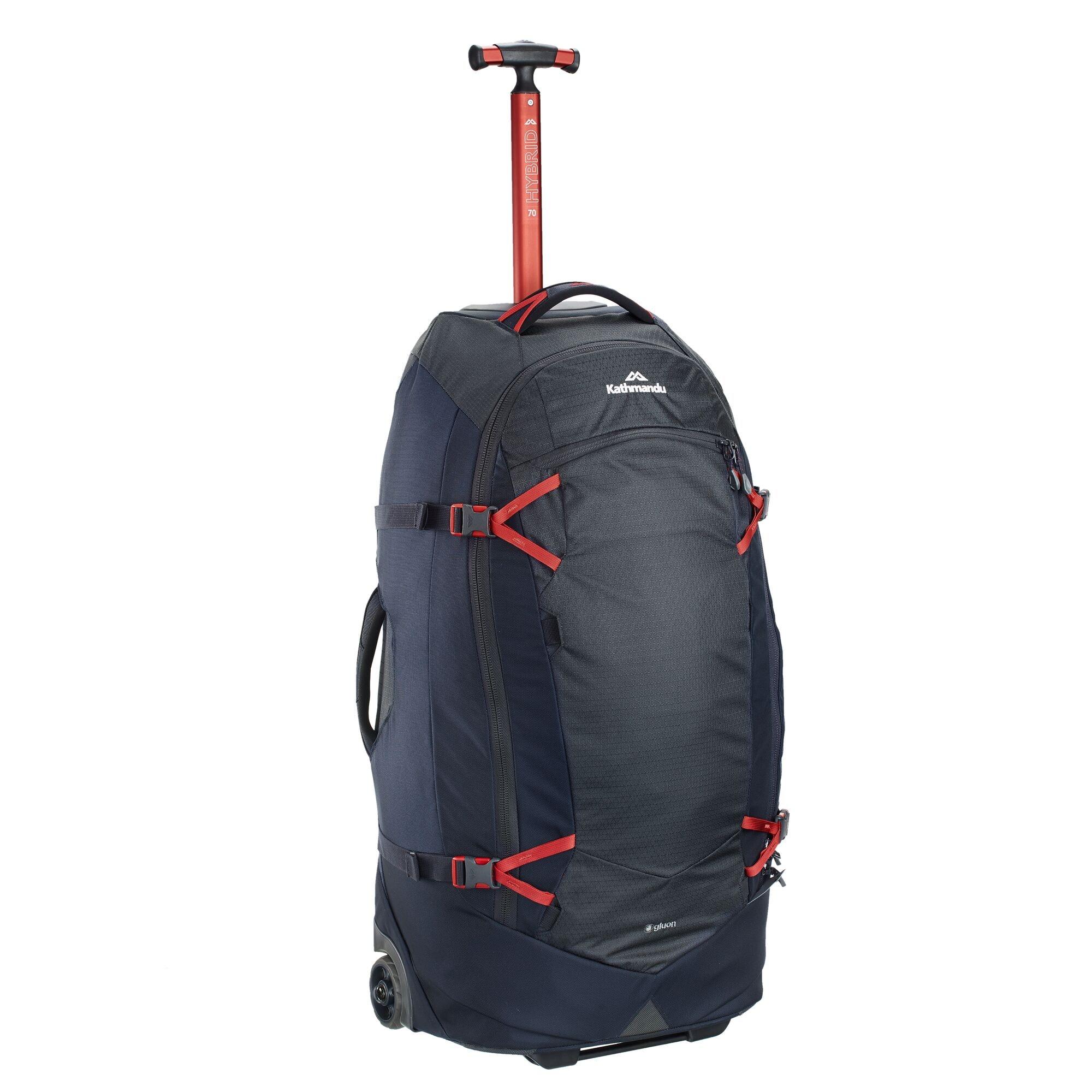 thumbnail 15 - NEW-Kathmandu-Hybrid-70L-Backpack-Wheeled-Handle-Luggage-Bag-Travel-Trolley