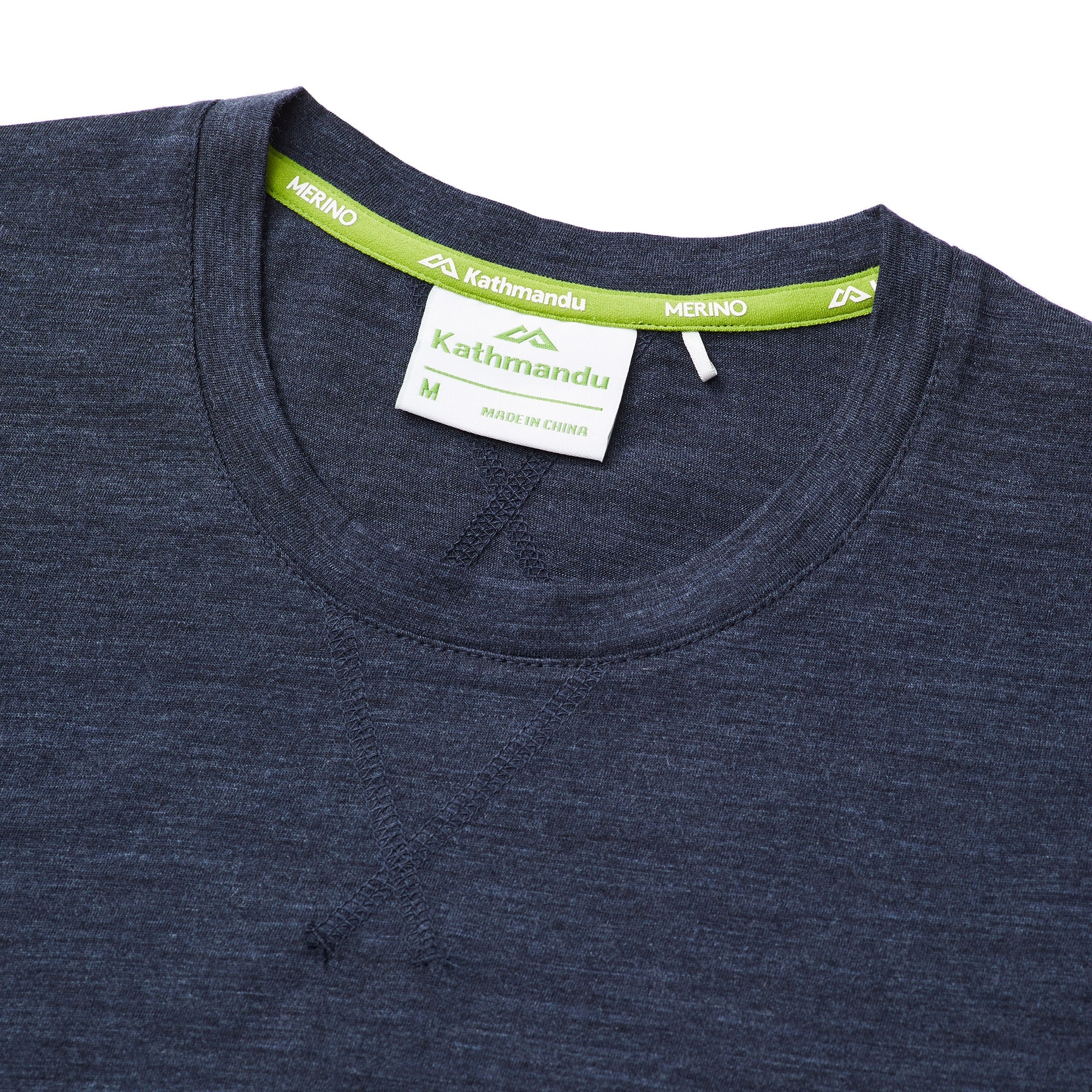 thumbnail 13 - NEW Kathmandu Core Spun Merino Wool Blend Short Sleeve Durable Men's Crew Top