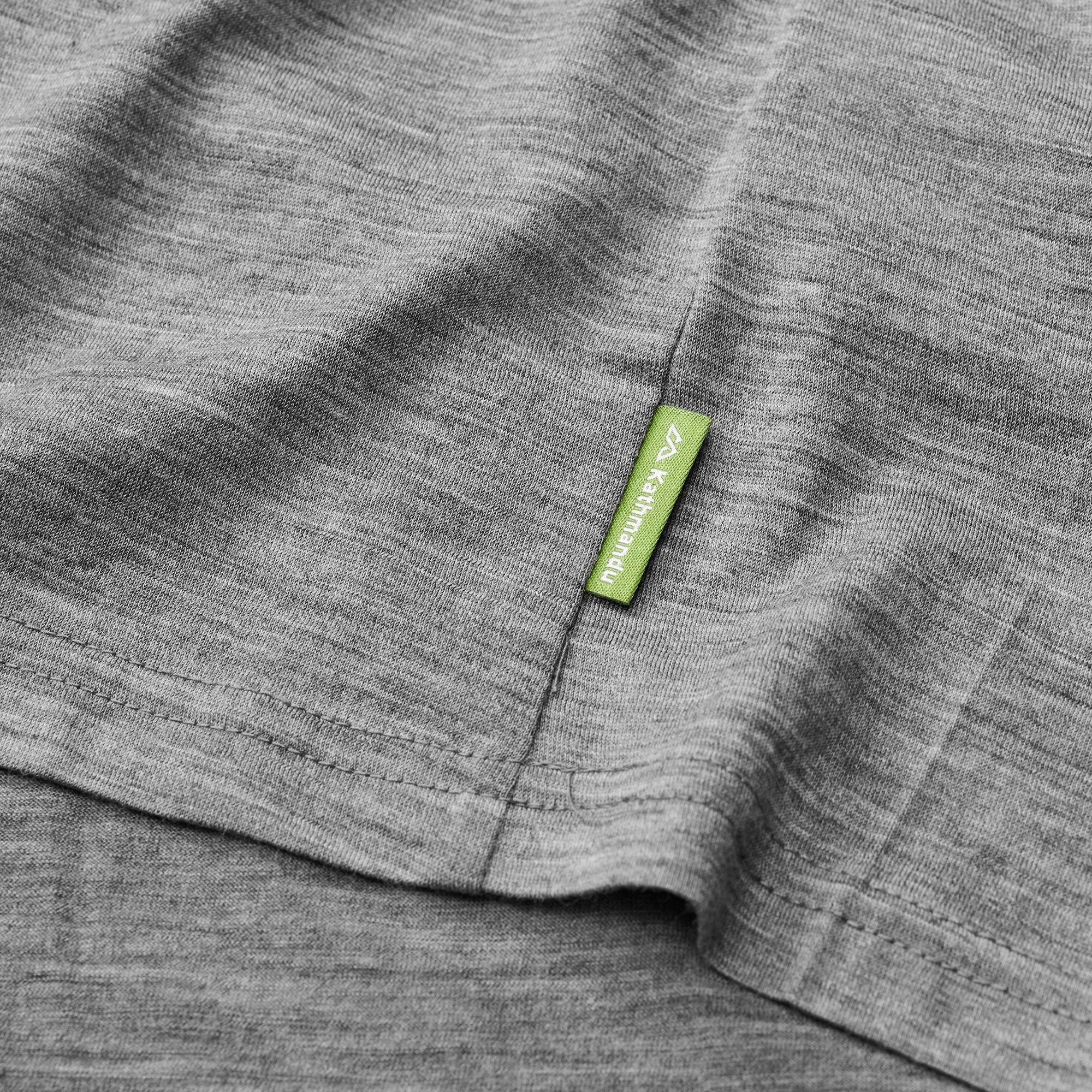 thumbnail 19 - NEW Kathmandu Core Spun Merino Wool Blend Short Sleeve Durable Men's Crew Top