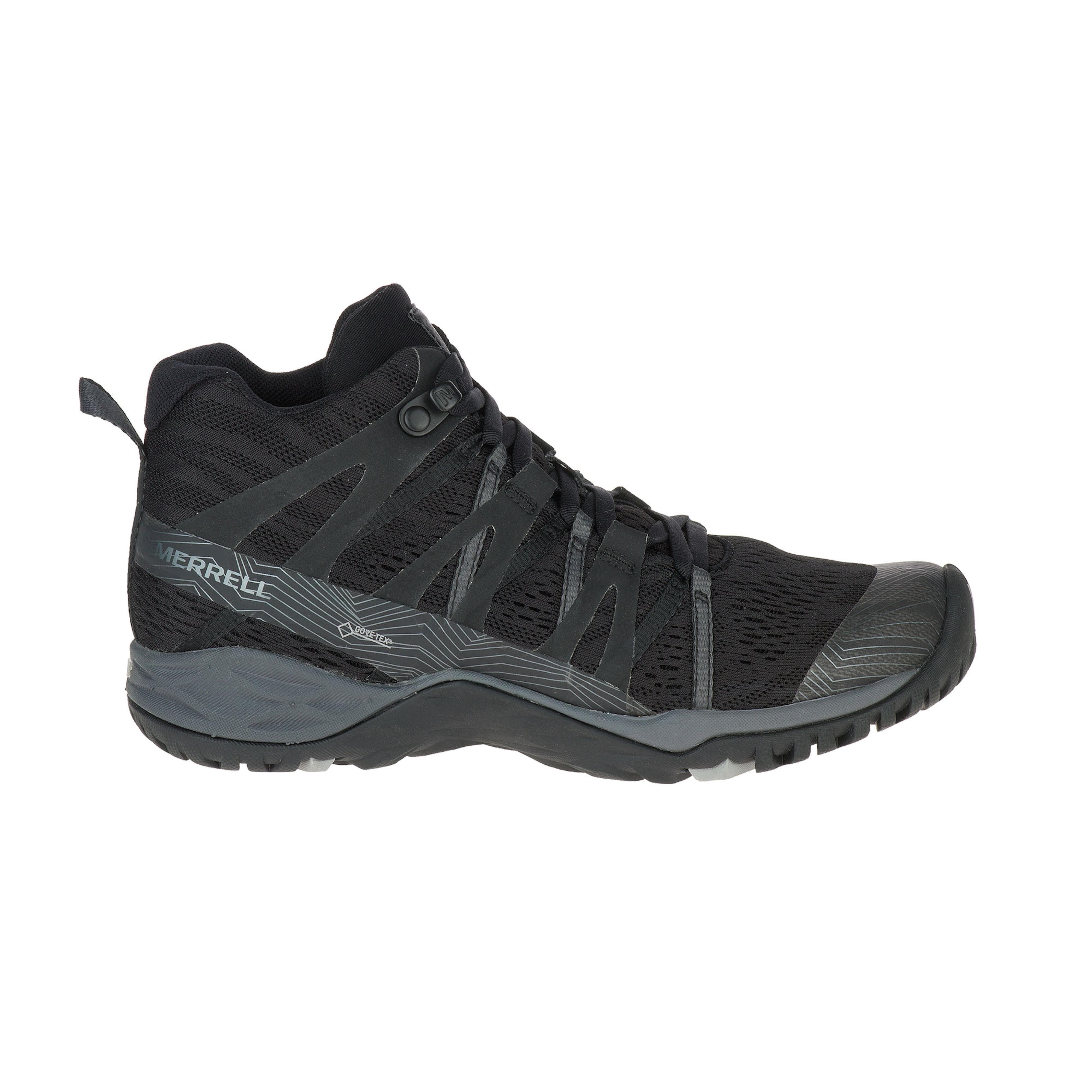32de53577ffe0 Merrell Women's Siren Hex Q2 Mid E-Mesh Gore-Tex Hiking Boots