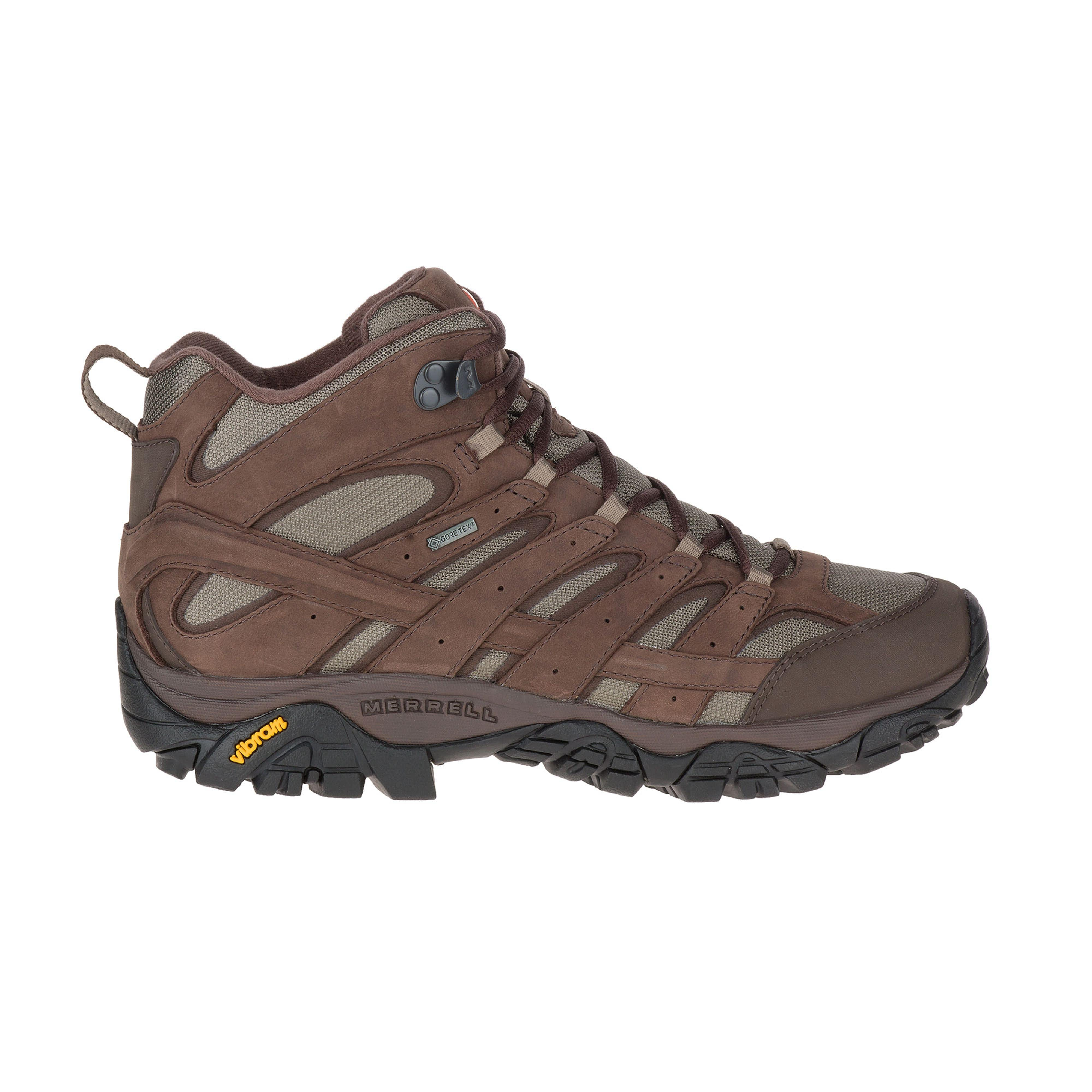 6962490fa76 Merrell Men s Moab 2 Smooth Mid Gore-Tex Hiking Boots
