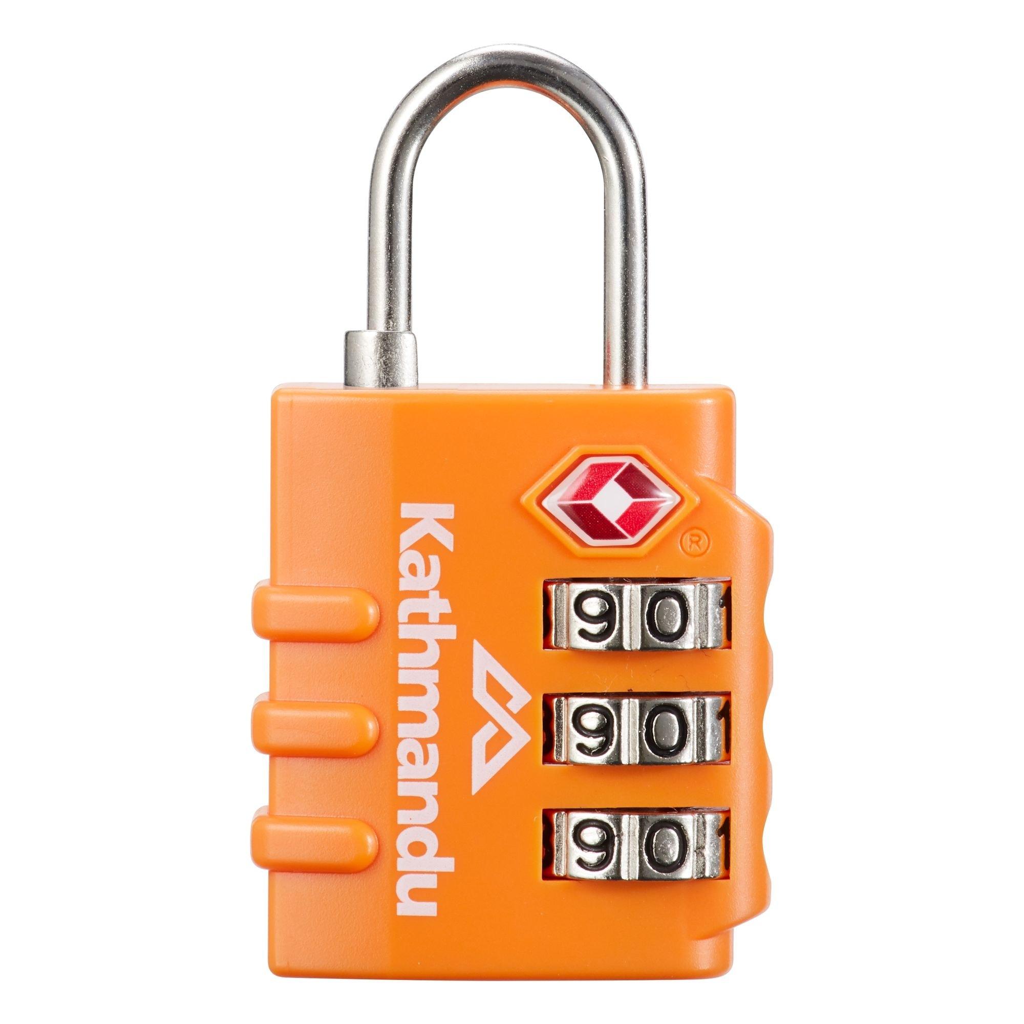 Security 3 Combination Travel Suitcase Luggage Bag Code Lock Zipper Padlock AW