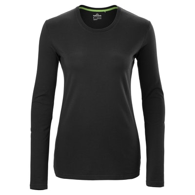 Solid Long Sleeve Crew T-Shirt