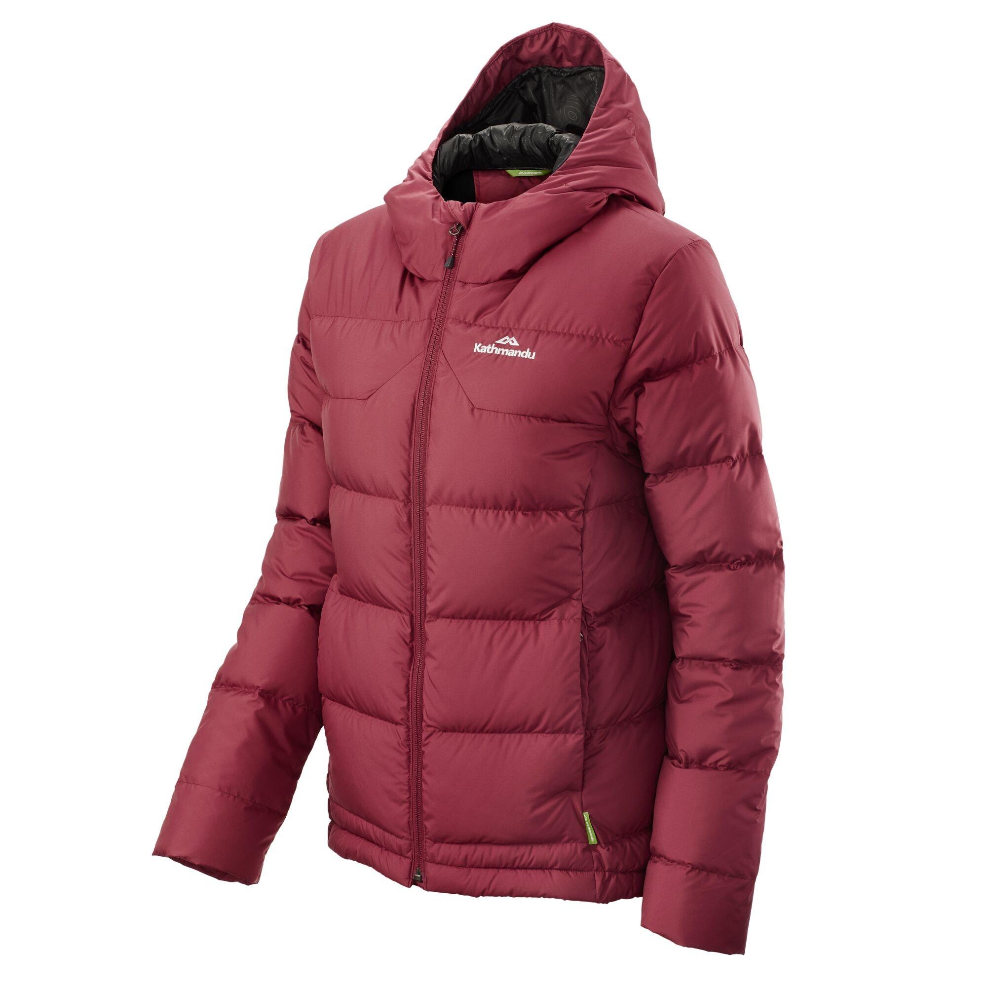 thumbnail 34 - NEW Kathmandu Epiq Womens Hooded Down Puffer 600 Fill Warm Outdoor Winter Jacket