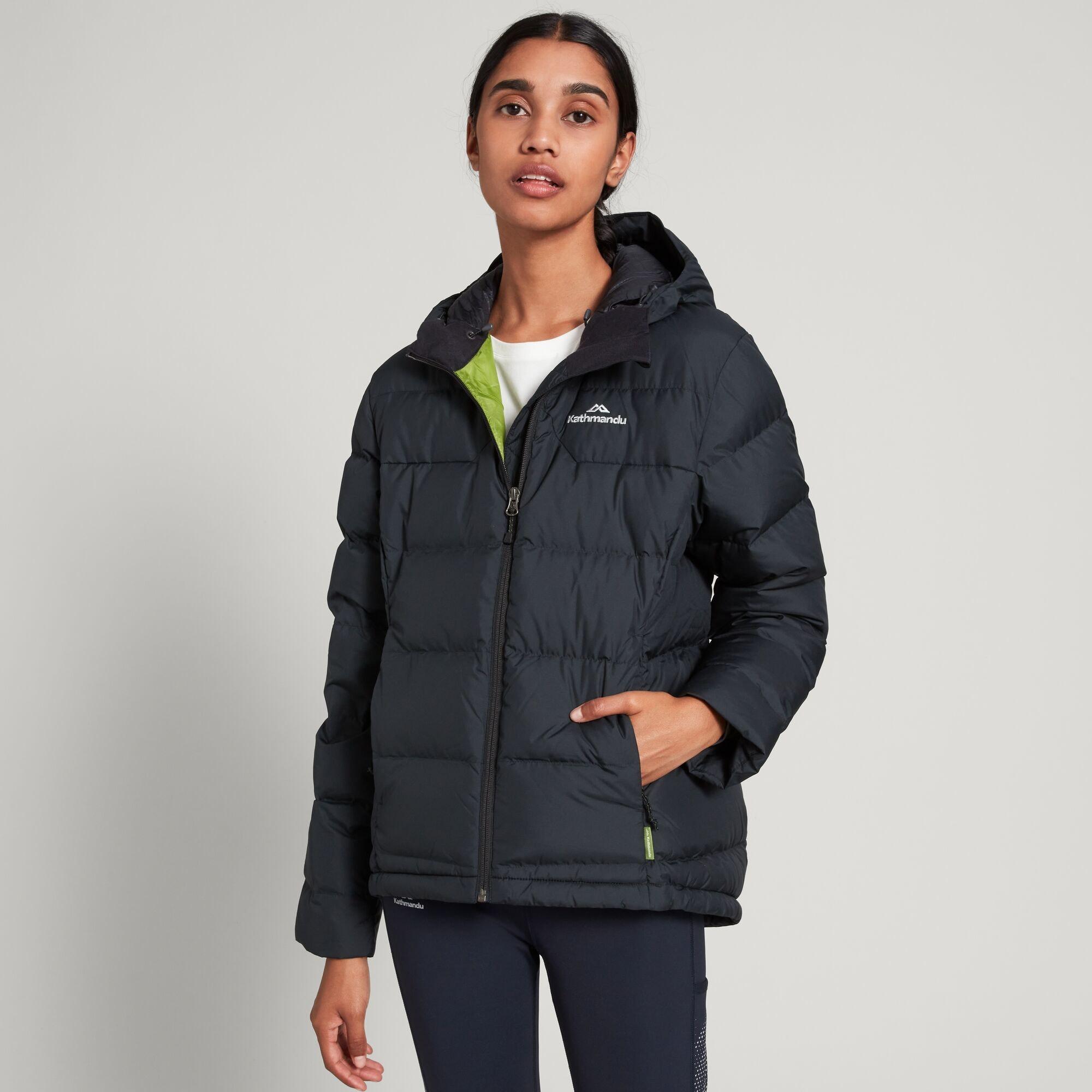 thumbnail 8 - NEW Kathmandu Epiq Womens Hooded Down Puffer 600 Fill Warm Outdoor Winter Jacket