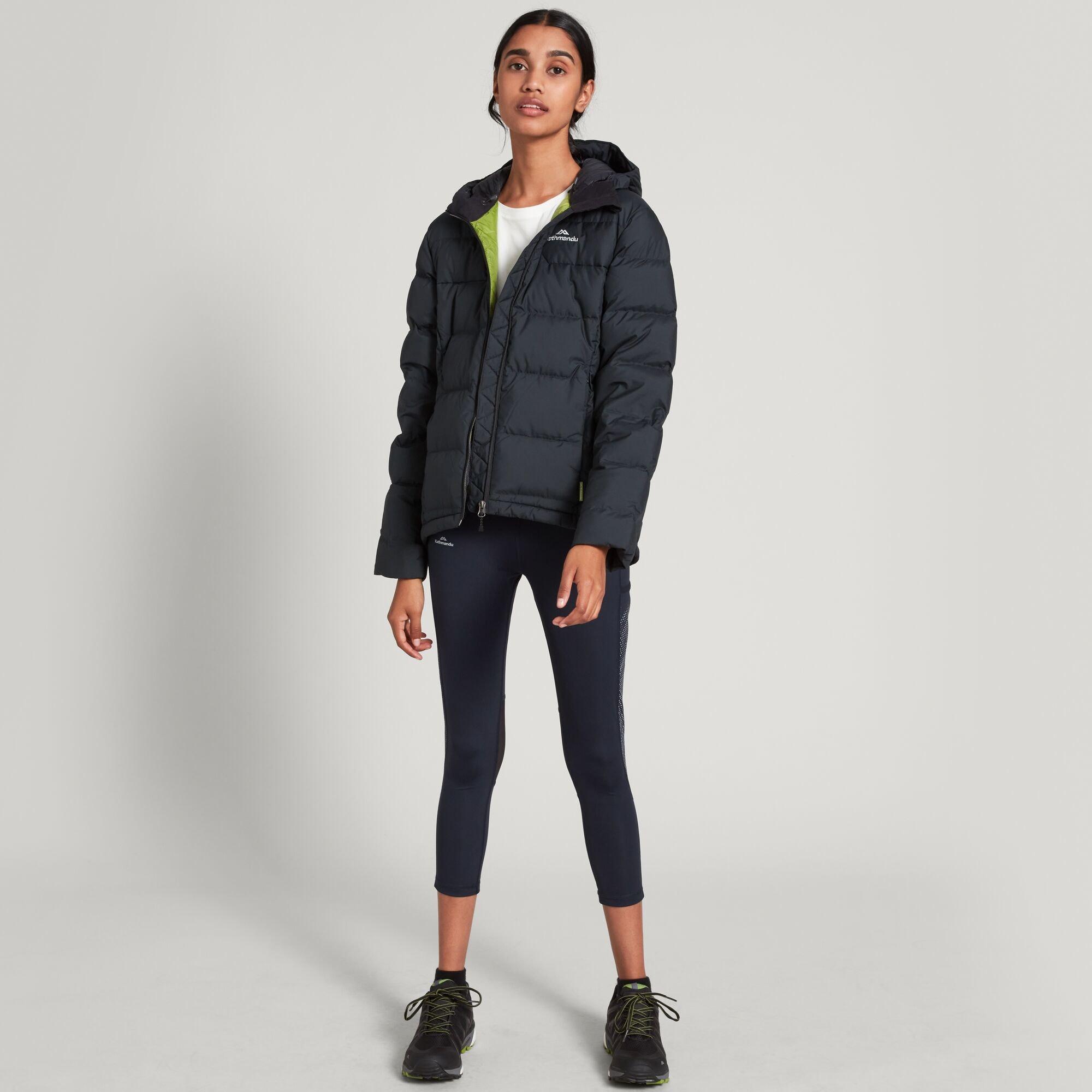 thumbnail 9 - NEW Kathmandu Epiq Womens Hooded Down Puffer 600 Fill Warm Outdoor Winter Jacket