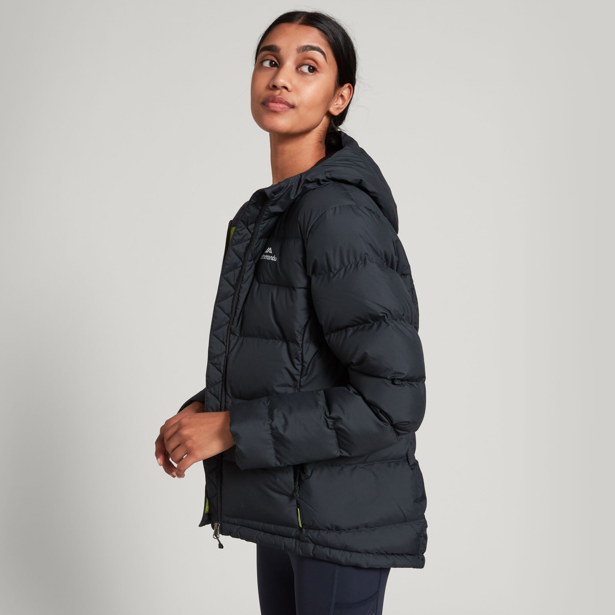 thumbnail 11 - NEW Kathmandu Epiq Womens Hooded Down Puffer 600 Fill Warm Outdoor Winter Jacket